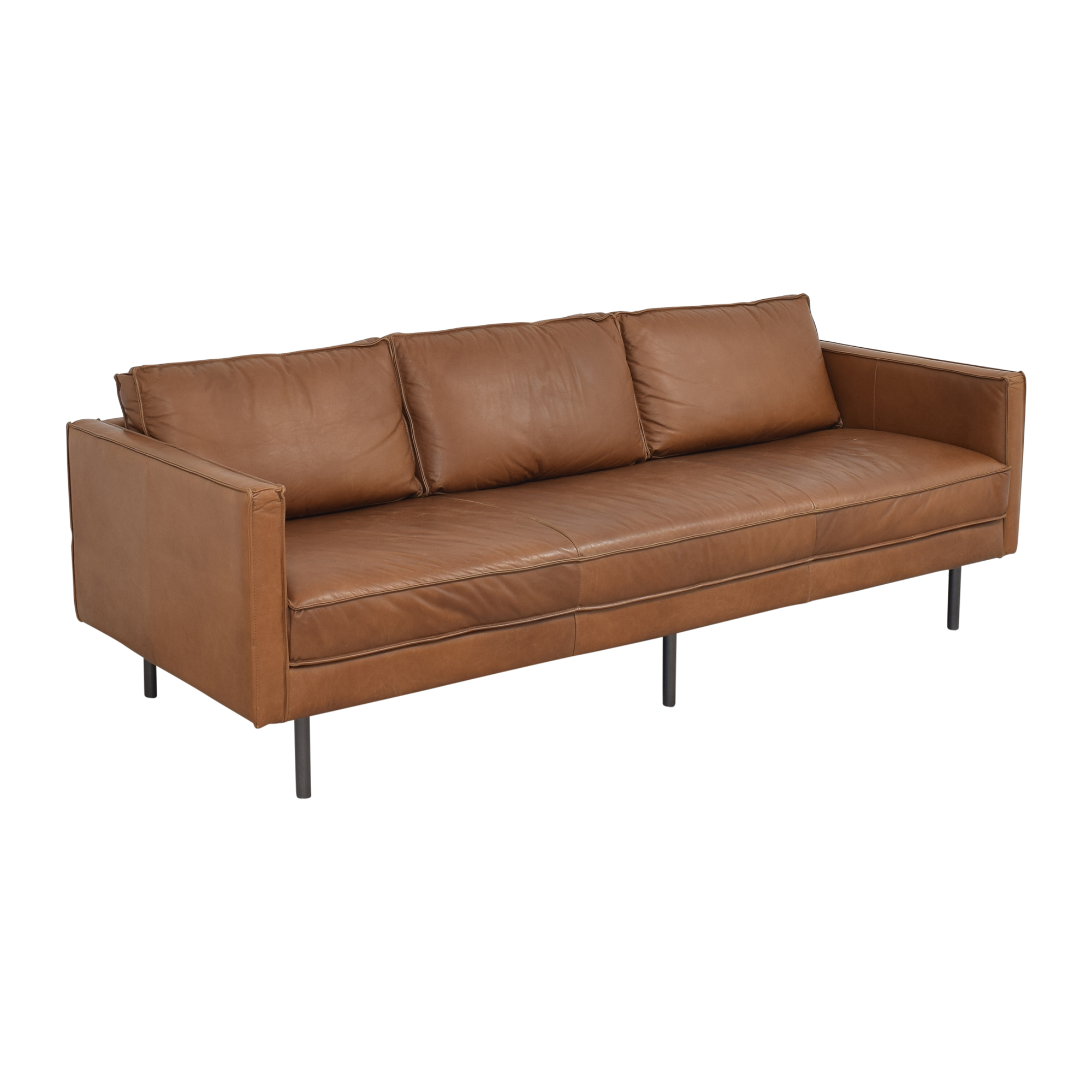 shop West Elm West Elm Axel Bench Cushion Sofa online
