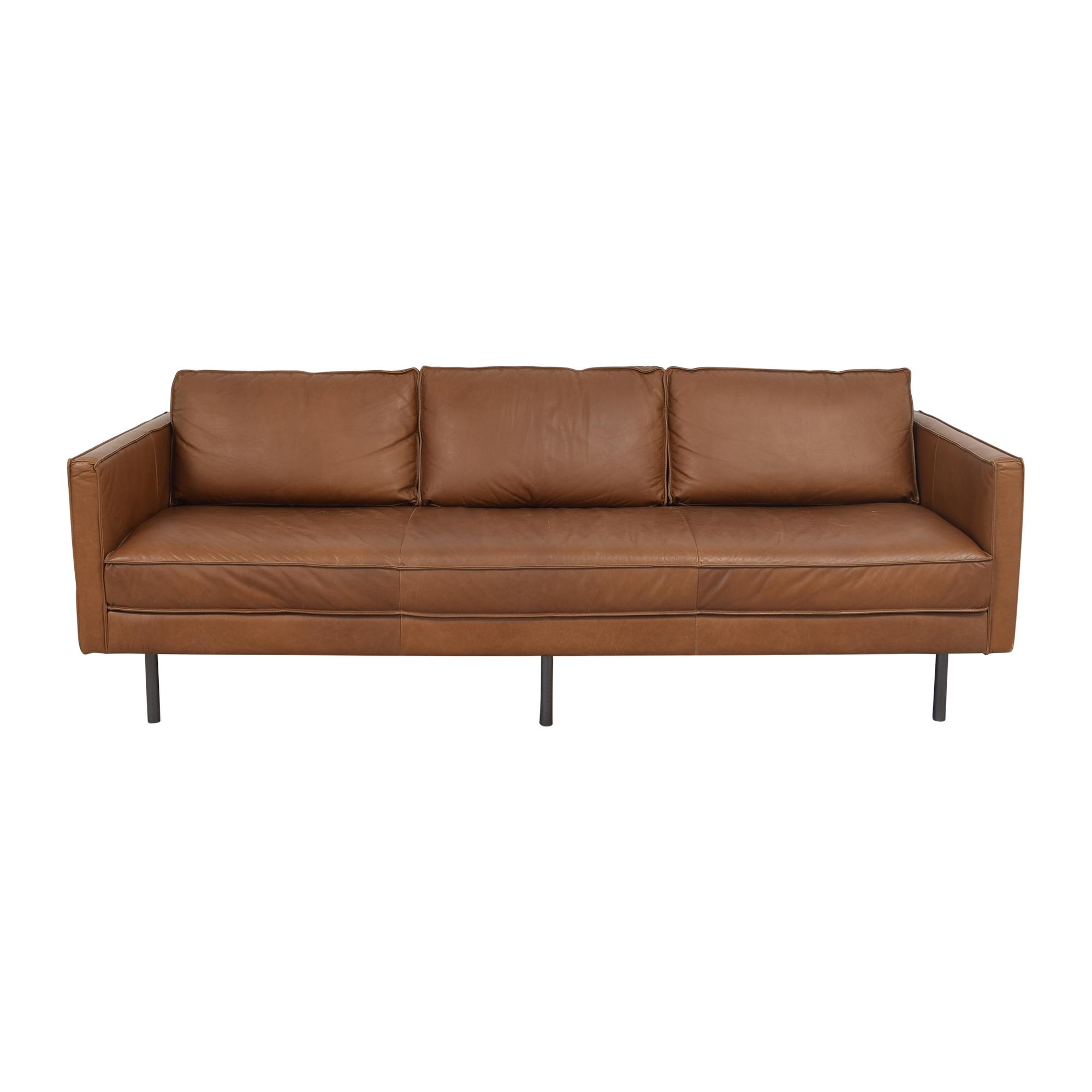 West Elm West Elm Axel Bench Cushion Sofa used