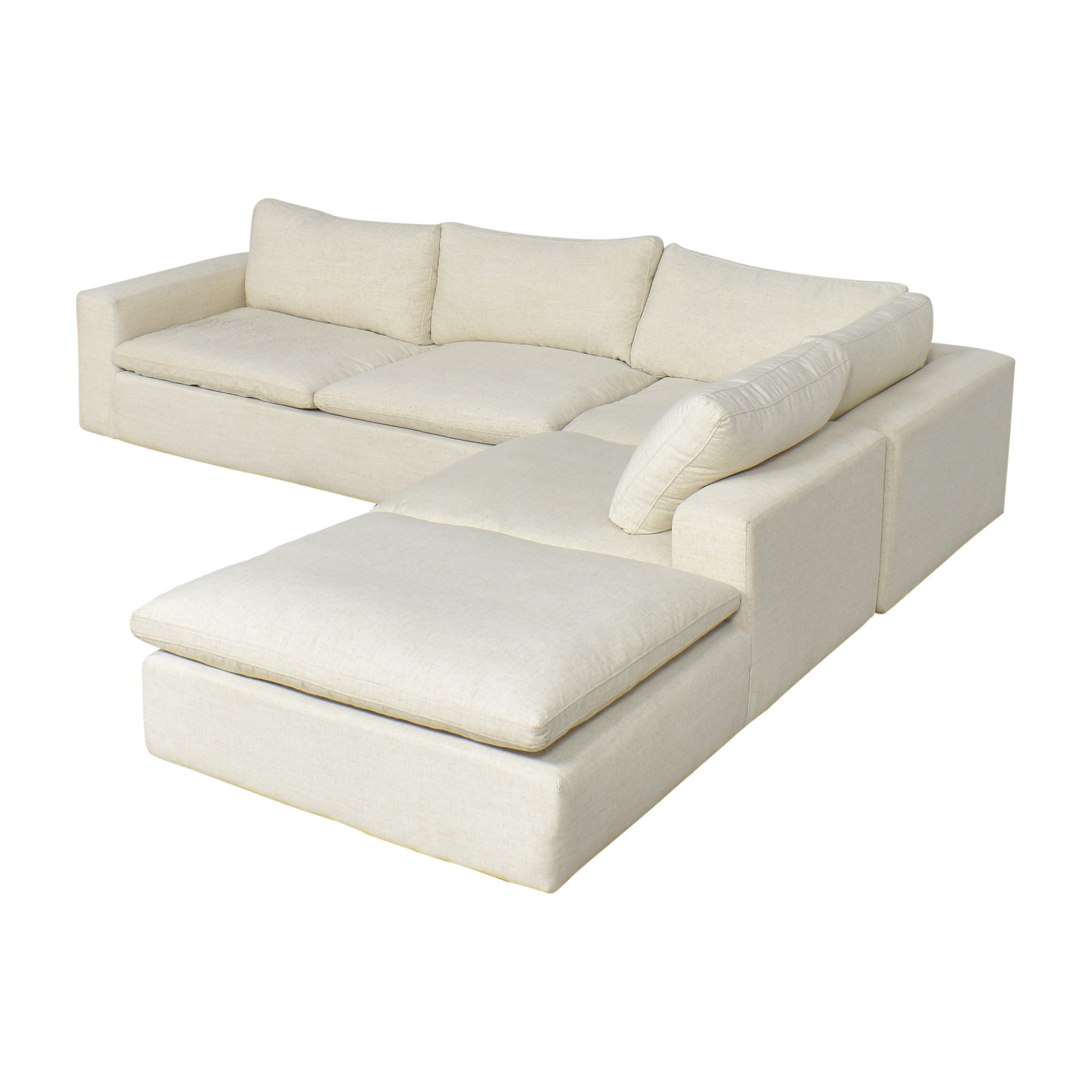 Living Spaces Living Spaces Utopia Three Piece Sectional Sofa used