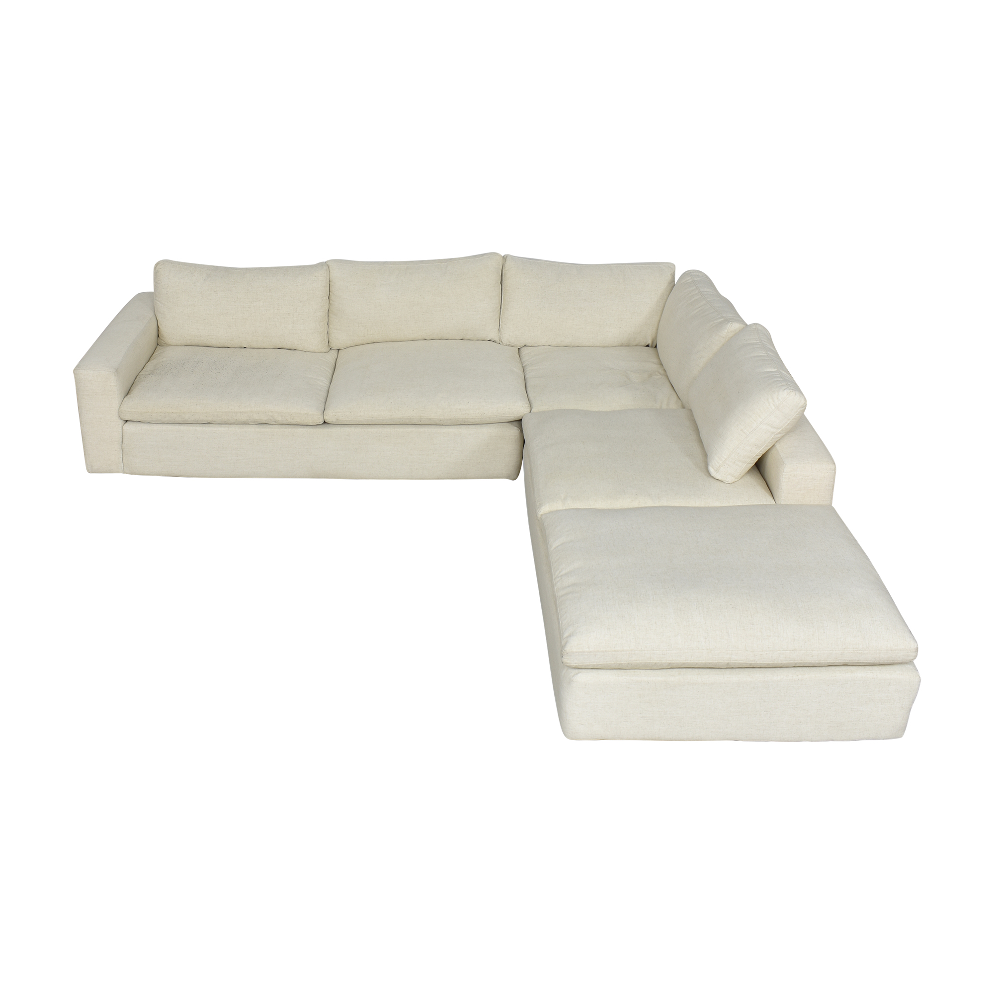 shop Living Spaces Living Spaces Utopia Three Piece Sectional Sofa online