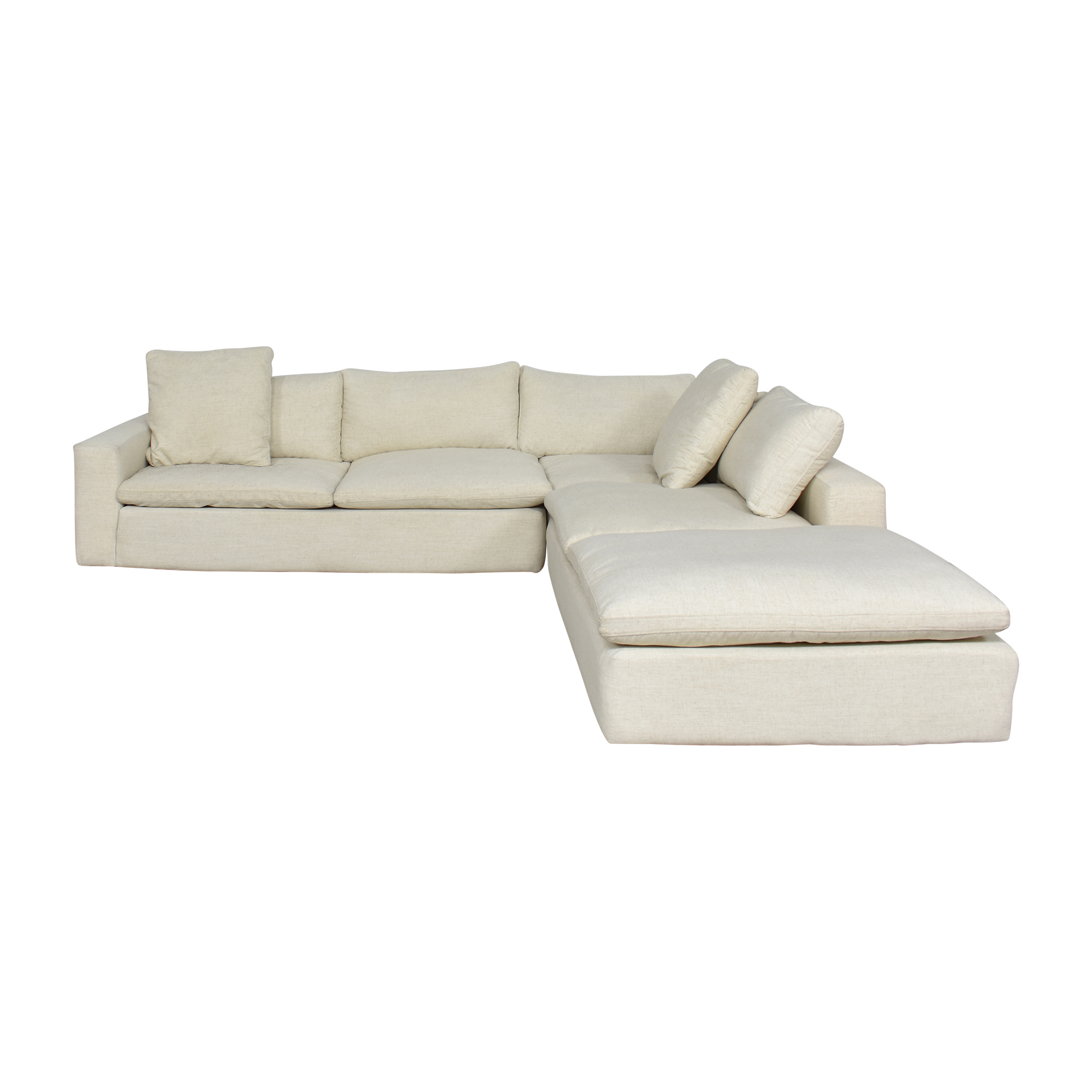 Living Spaces Living Spaces Utopia Three Piece Sectional Sofa pa