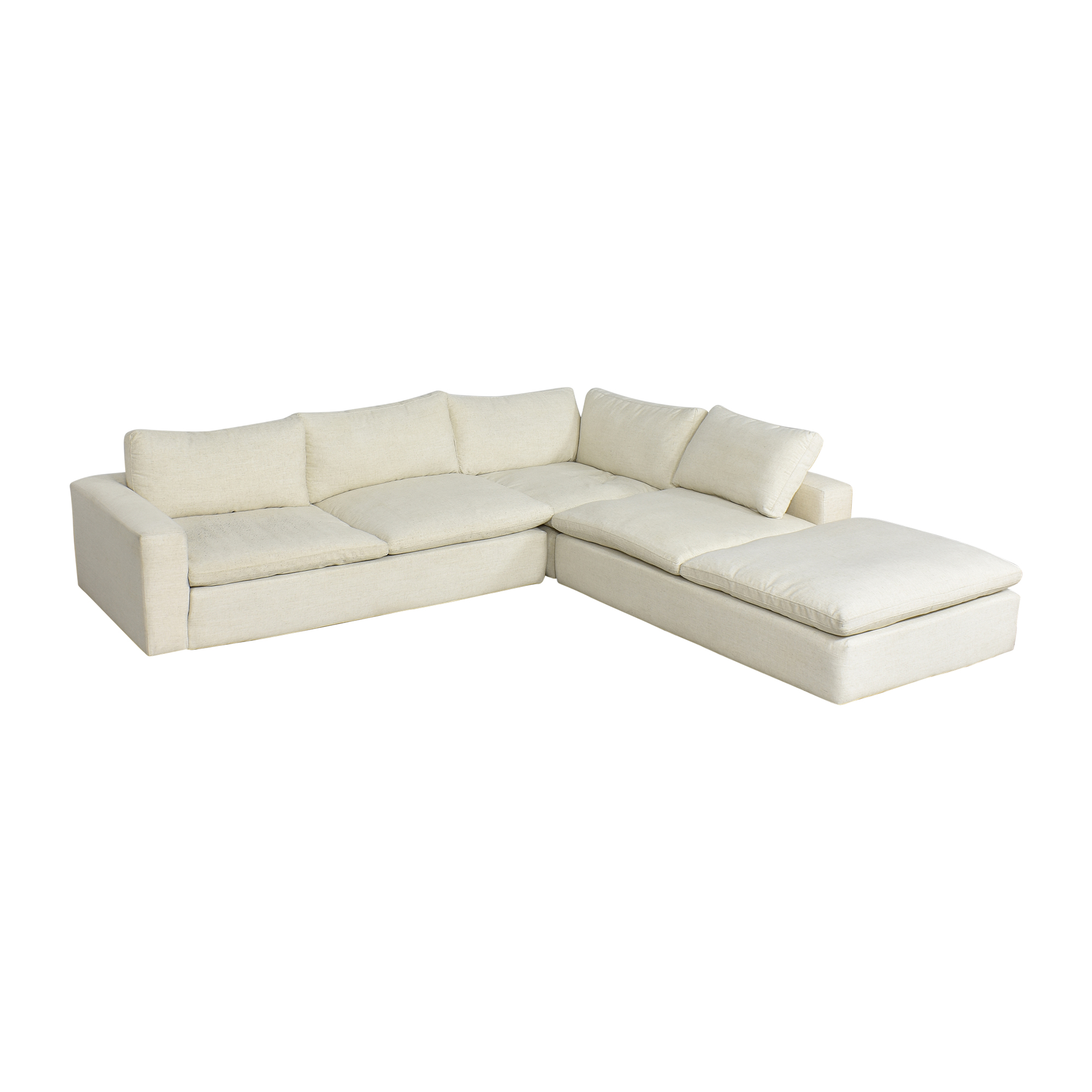 Living Spaces Living Spaces Utopia Three Piece Sectional Sofa price