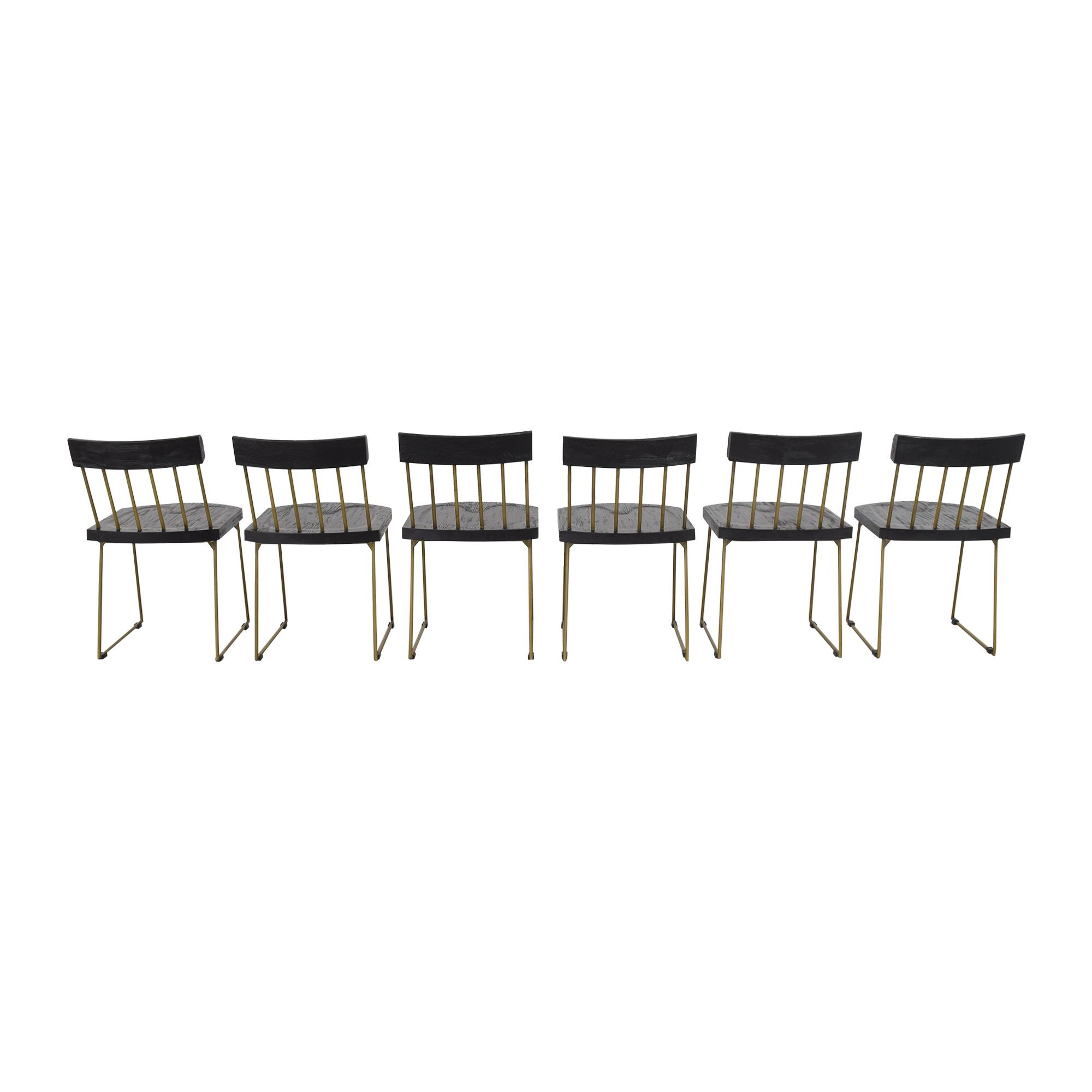 TOV TOV Madrid Dining Chairs dimensions
