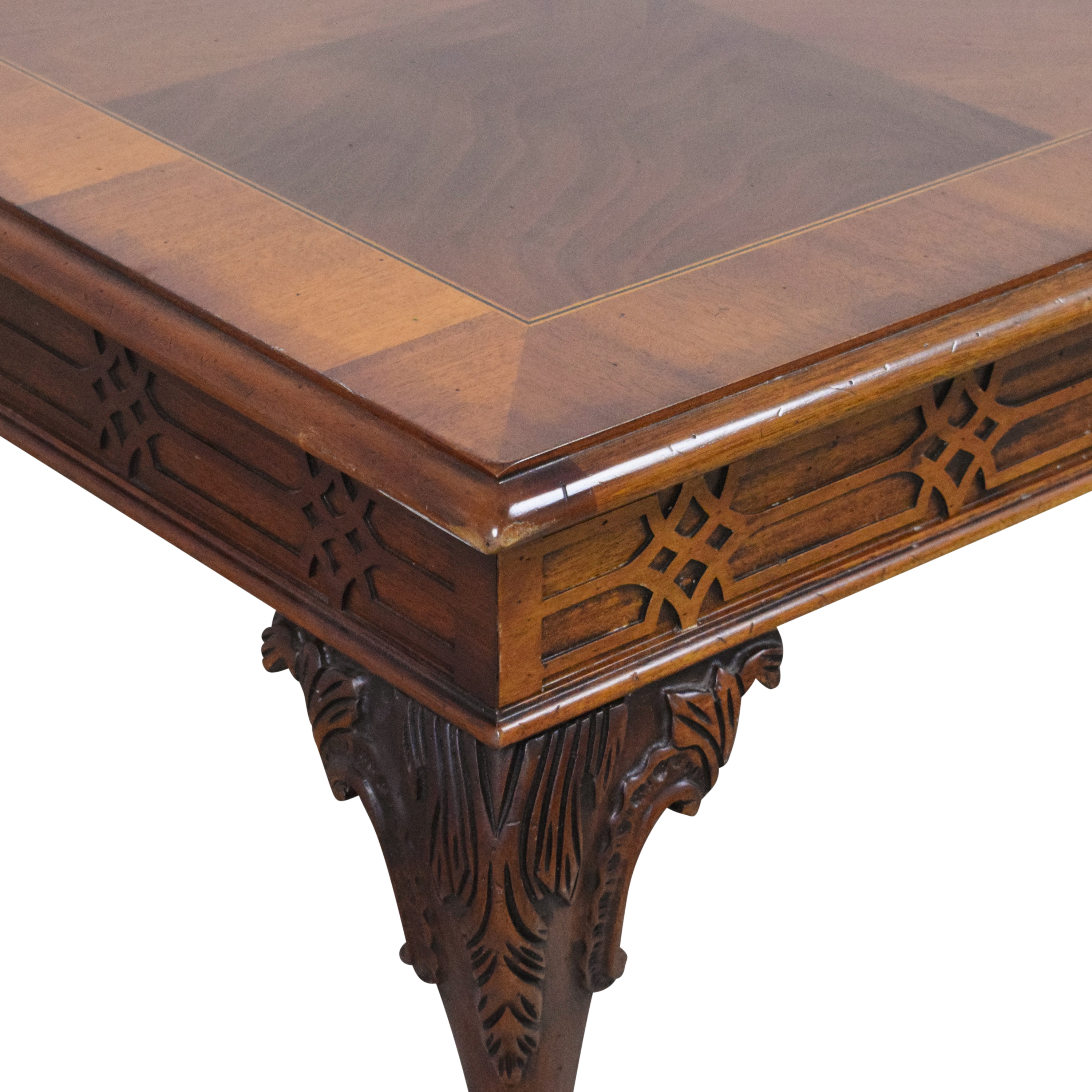 Square Parquet Coffee Table / Tables