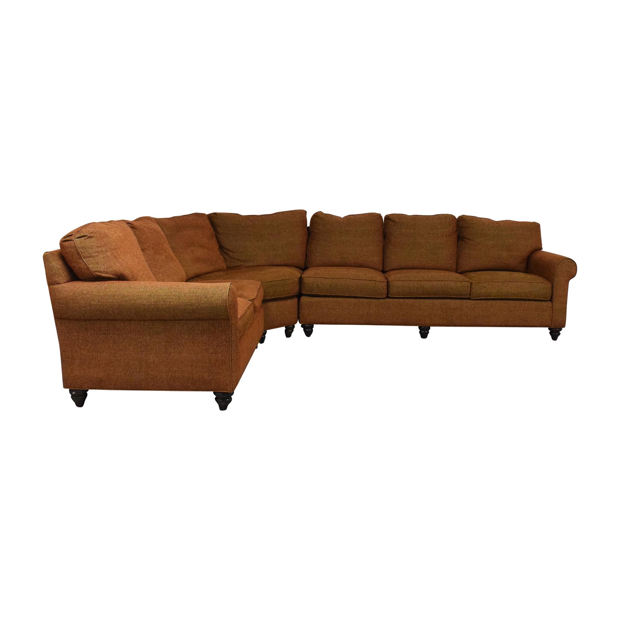 Bassett Furniture Bassett Furniture Corner Sectional Sofa second hand