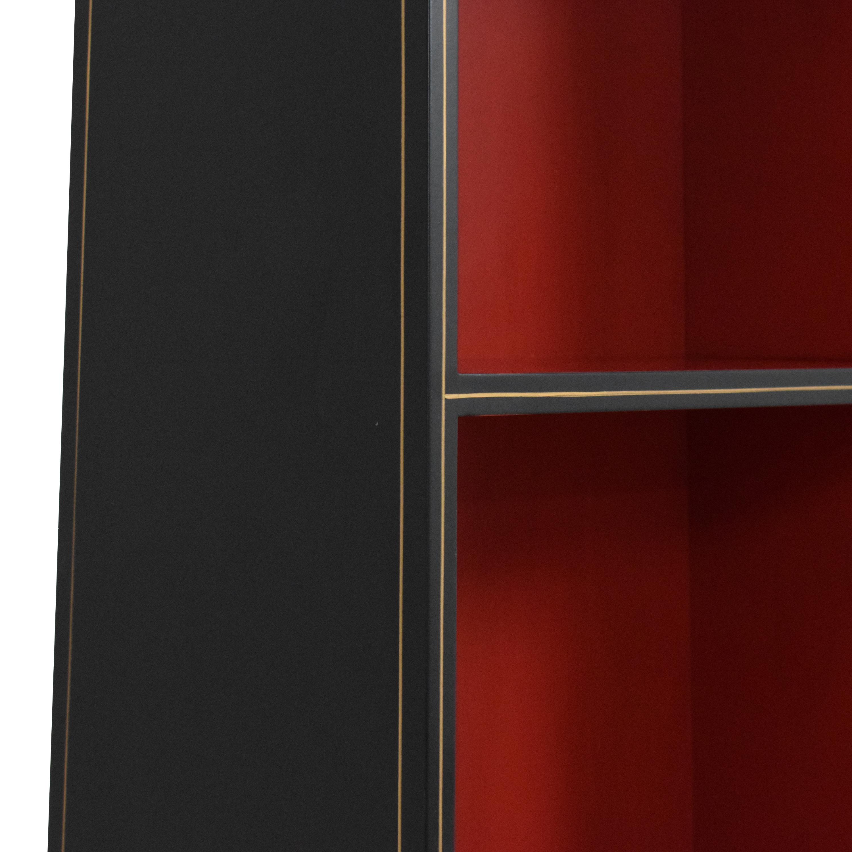Chelsea House Chelsea House Obelisk Bookcase black & red