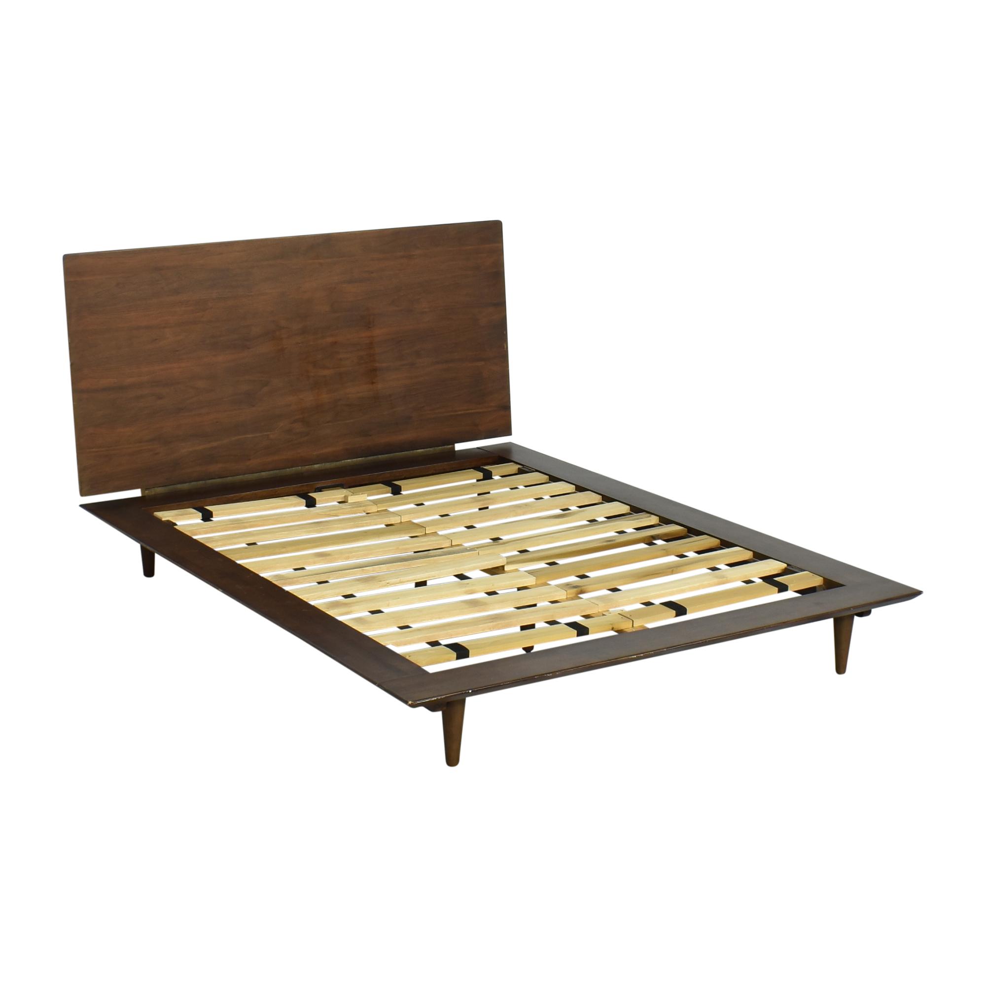 buy World Market Barrett Platform Queen Bed  World Market