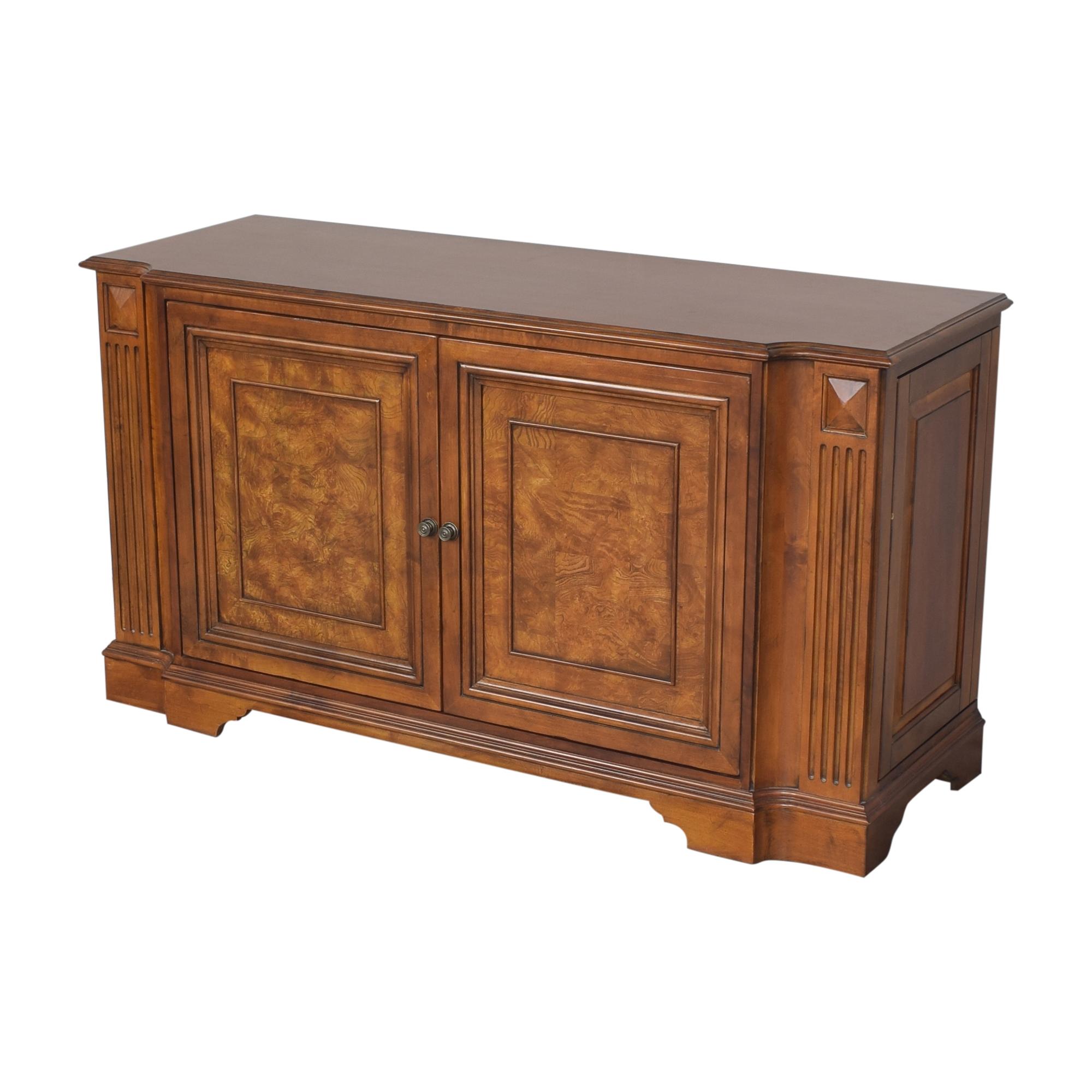 Ethan Allen Two Door Cabinet sale