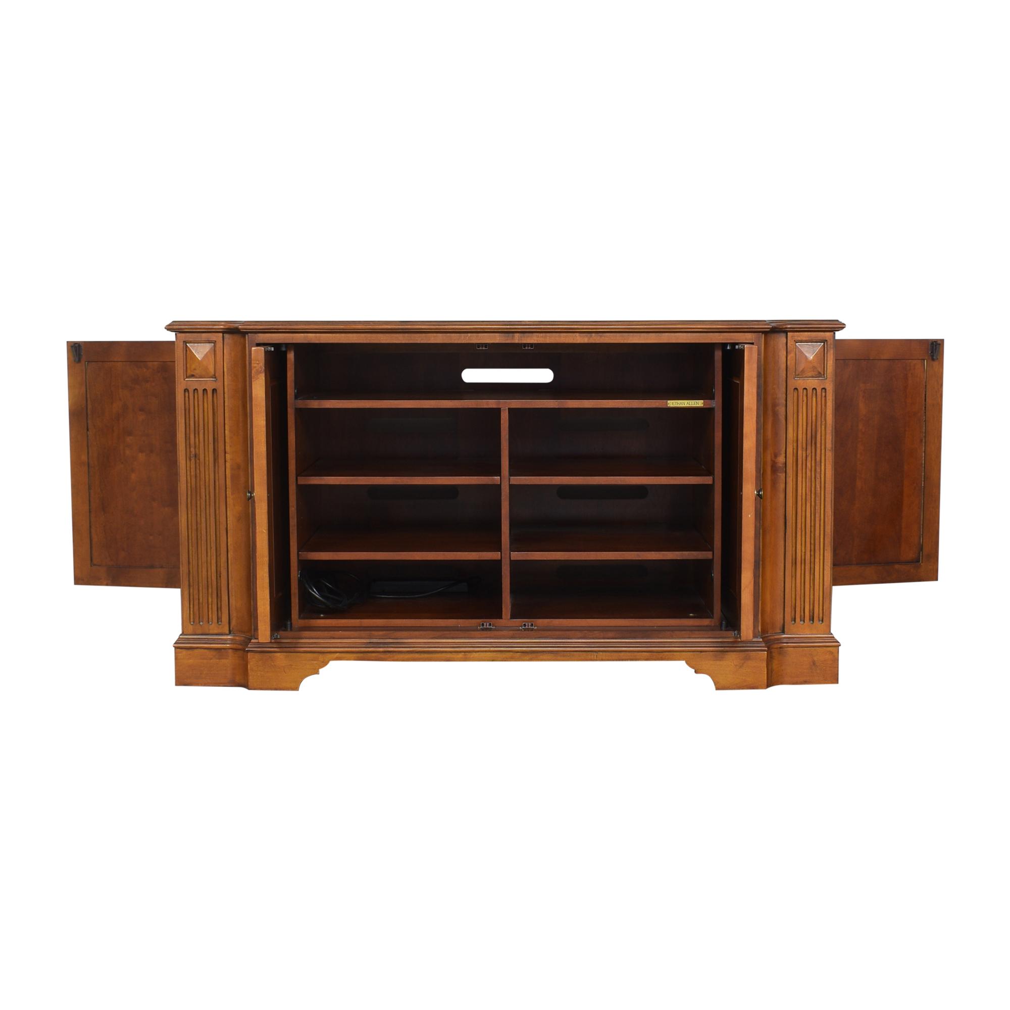 Ethan Allen Two Door Cabinet / Cabinets & Sideboards