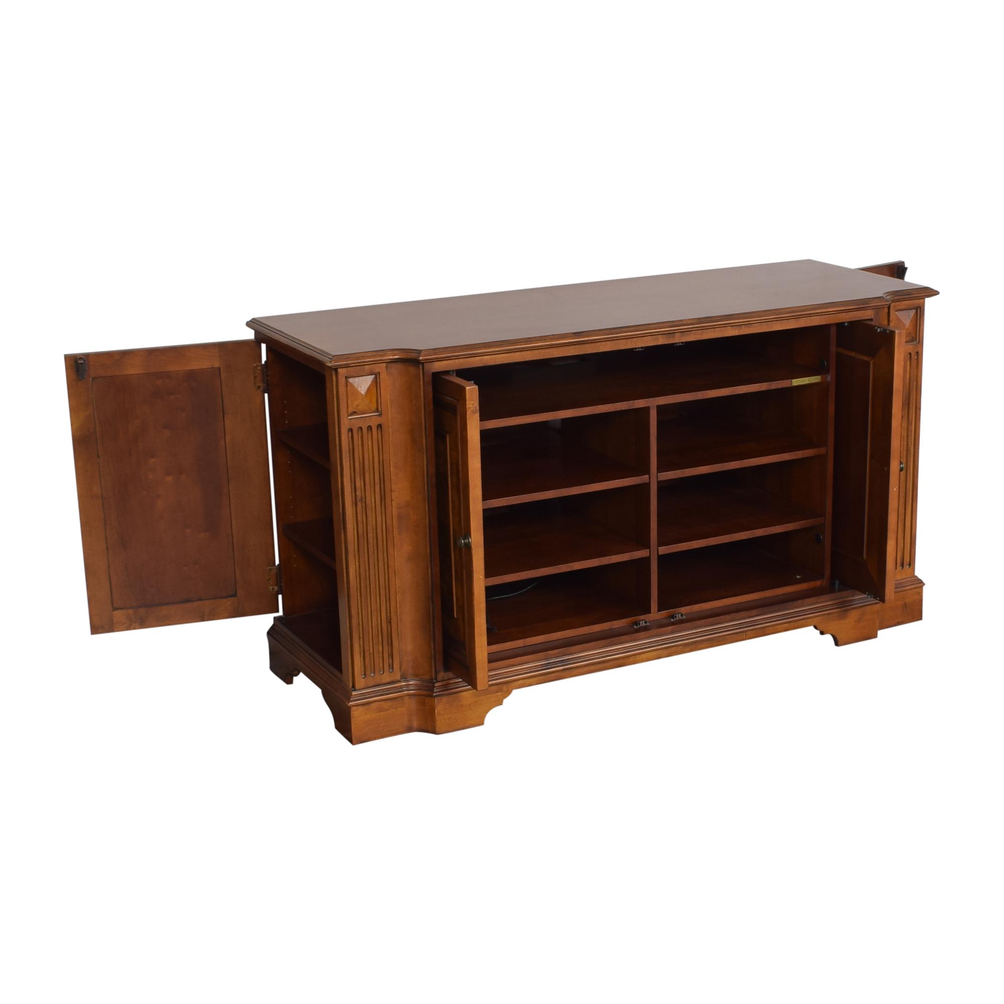 buy Ethan Allen Two Door Cabinet Ethan Allen Storage