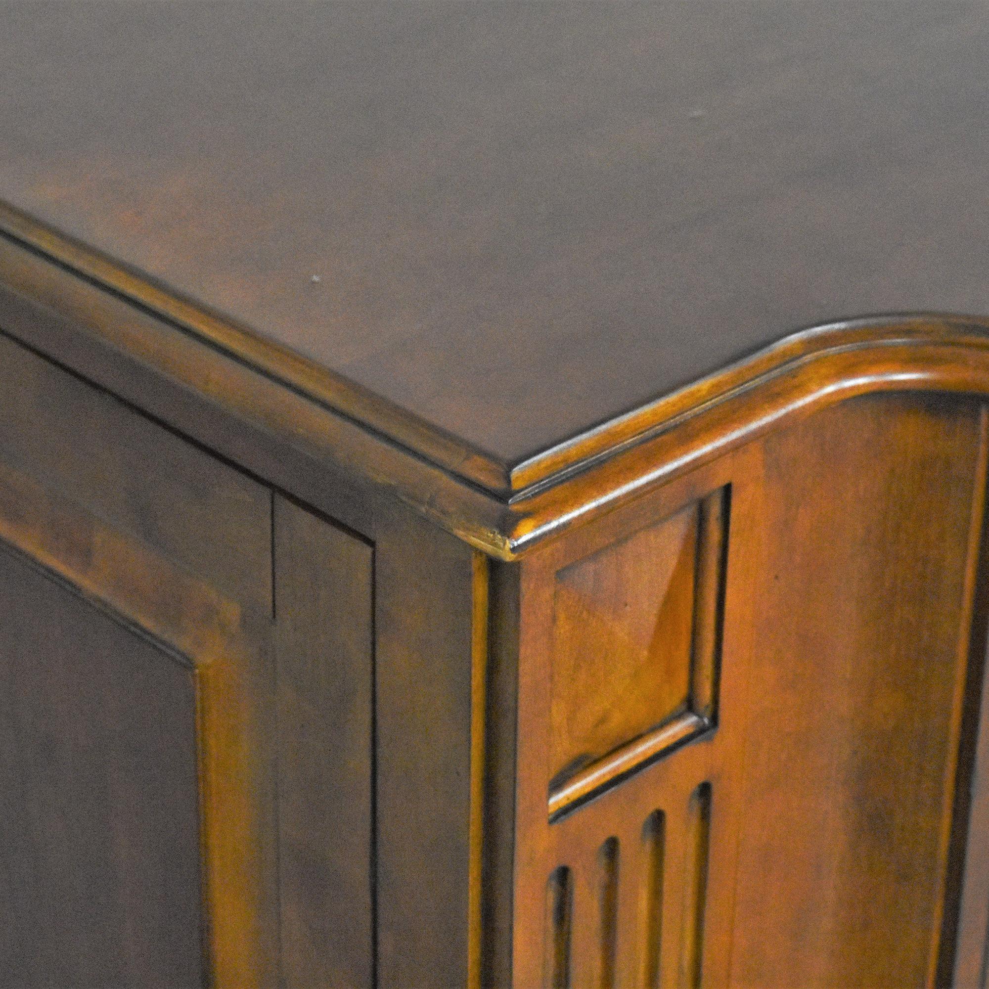 Ethan Allen Ethan Allen Two Door Cabinet Brown