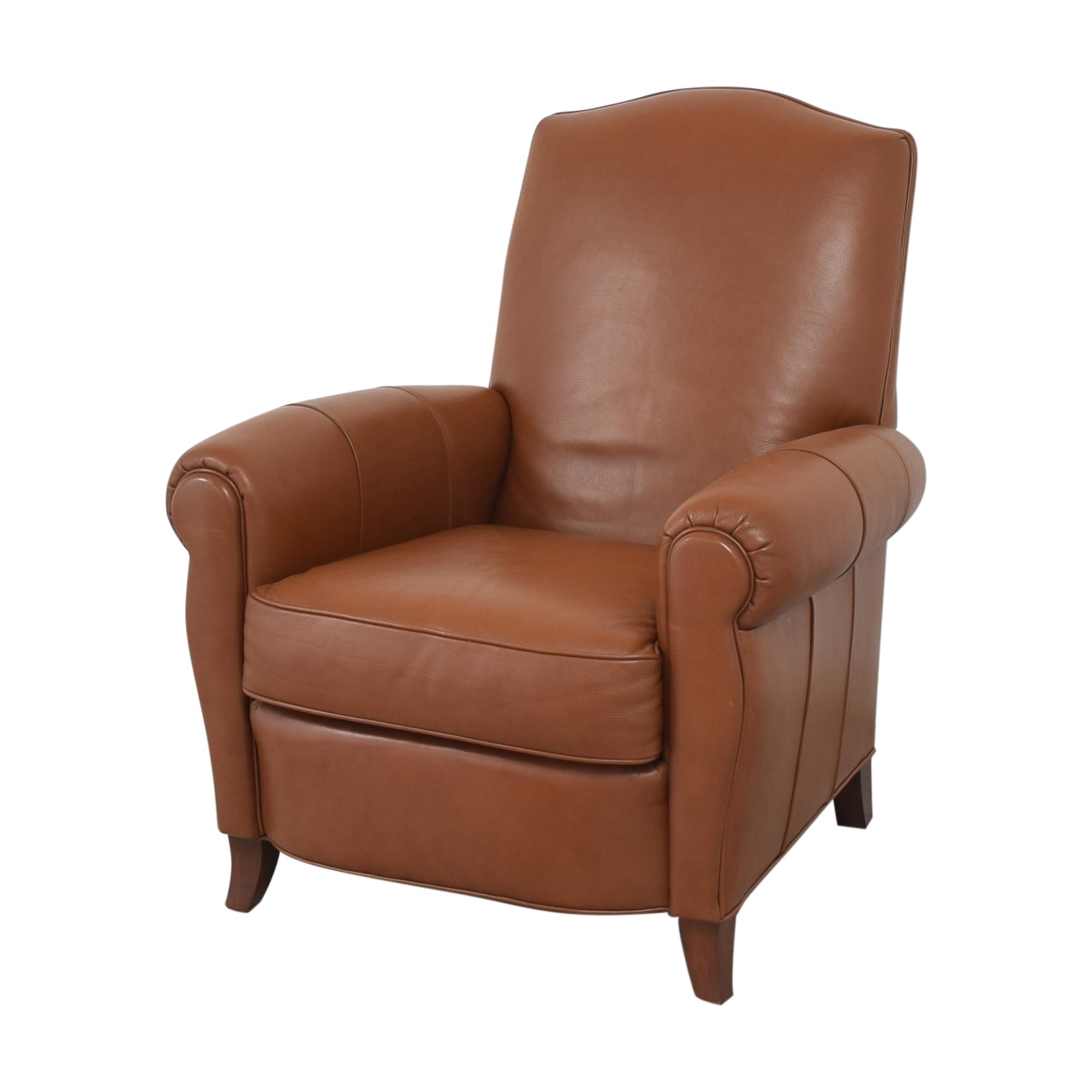 buy Ethan Allen Ethan Allen Roll Arm Chair with Ottoman online