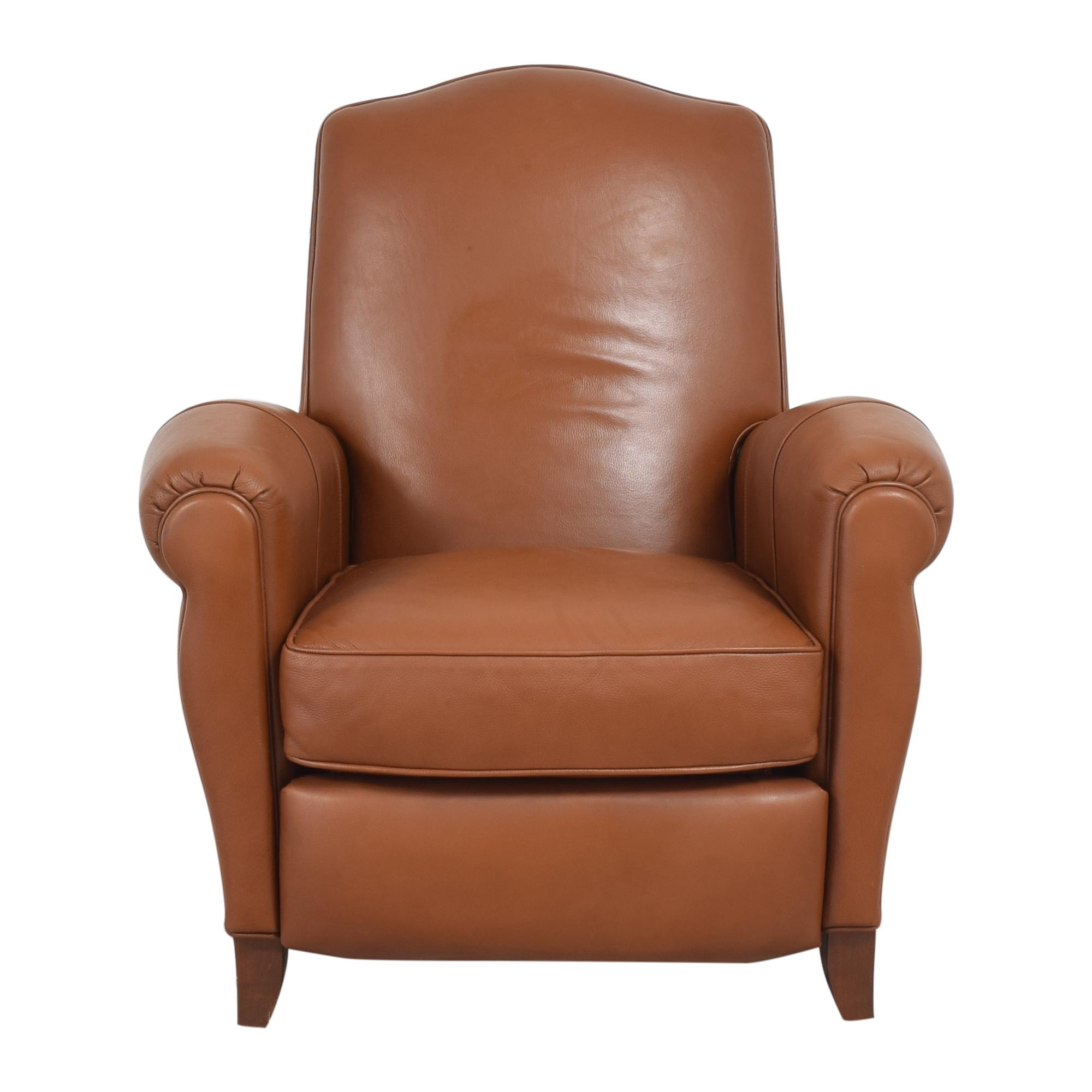 shop Ethan Allen Roll Arm Recliner Ethan Allen Chairs