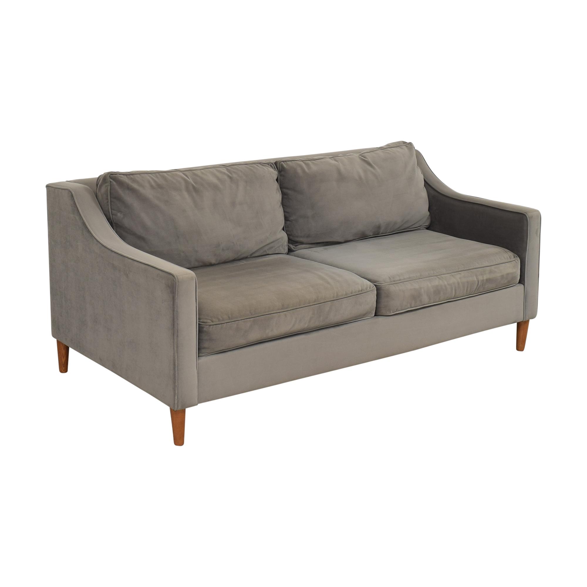 West Elm West Elm Paidge Sofa gray