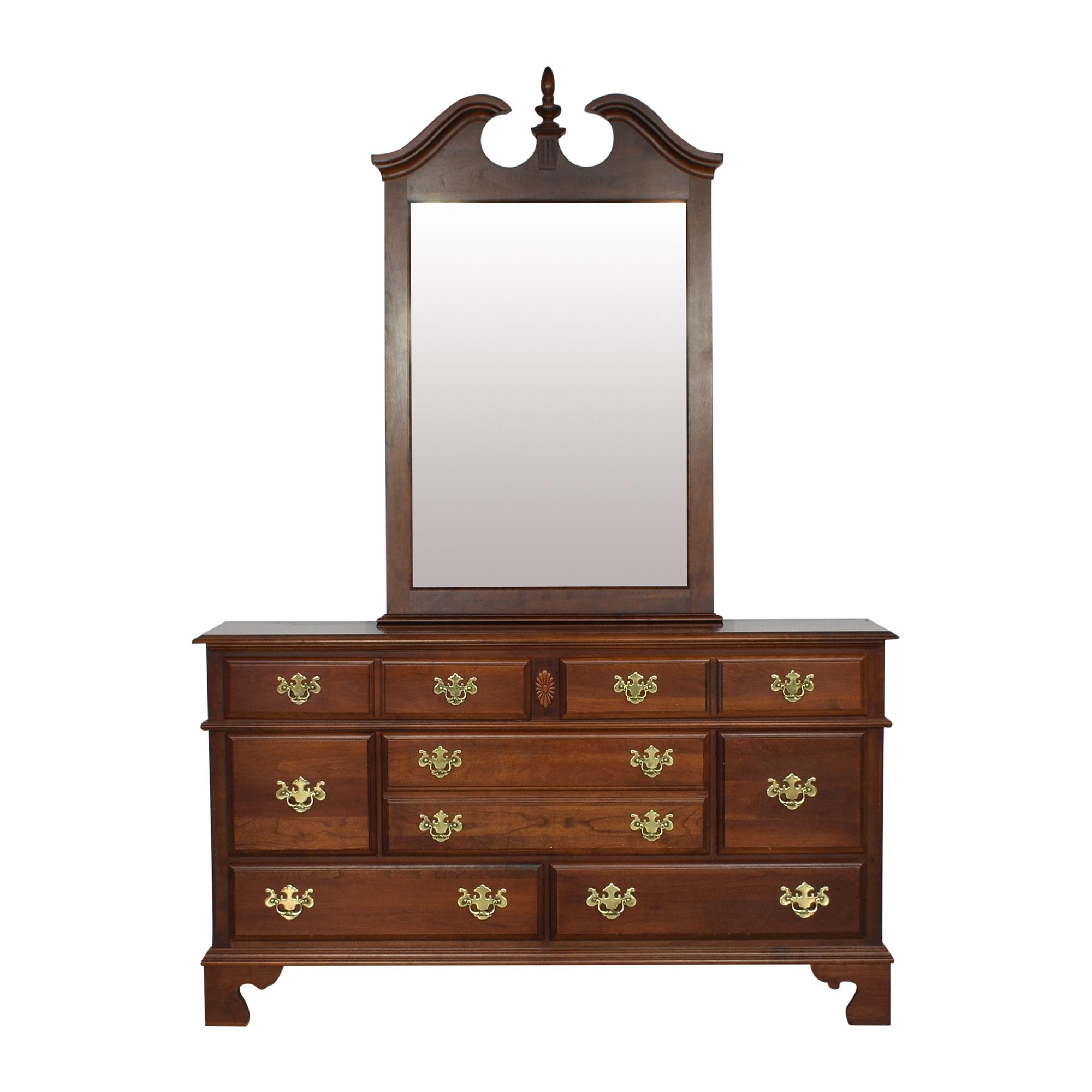 shop Pennsylvania House Medallion Collection Dresser Pennsylvania House Dressers