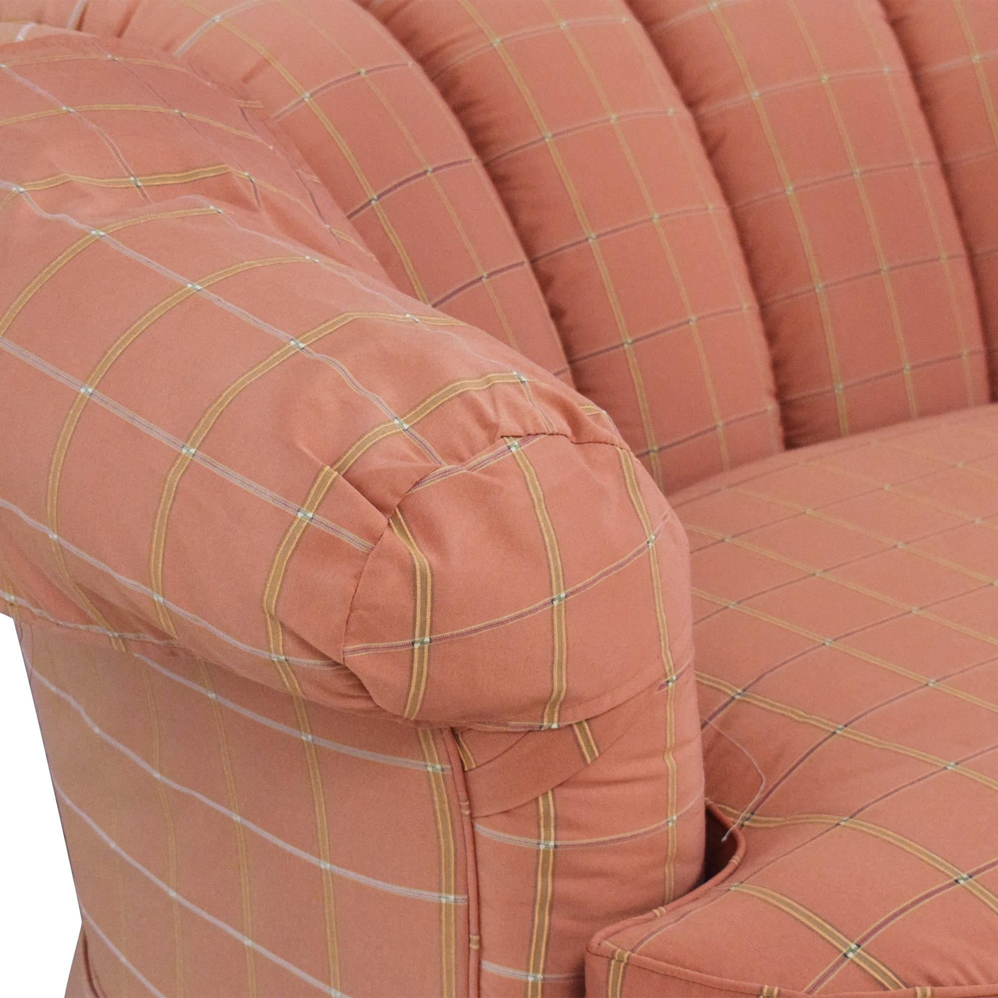 Highland House Furniture Highland House Scalloped Sofa on sale