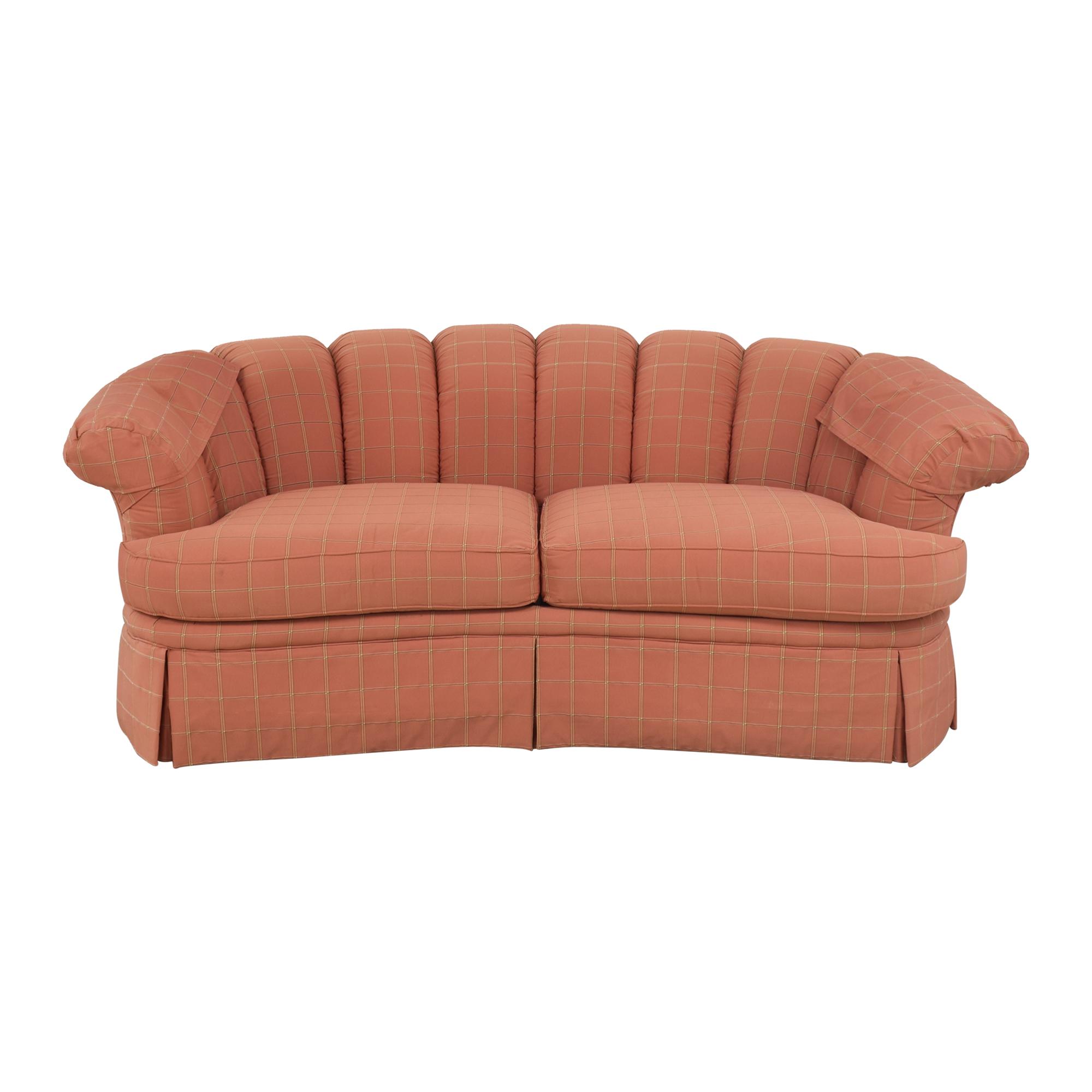 Highland House Furniture Highland House Scalloped Sofa pa
