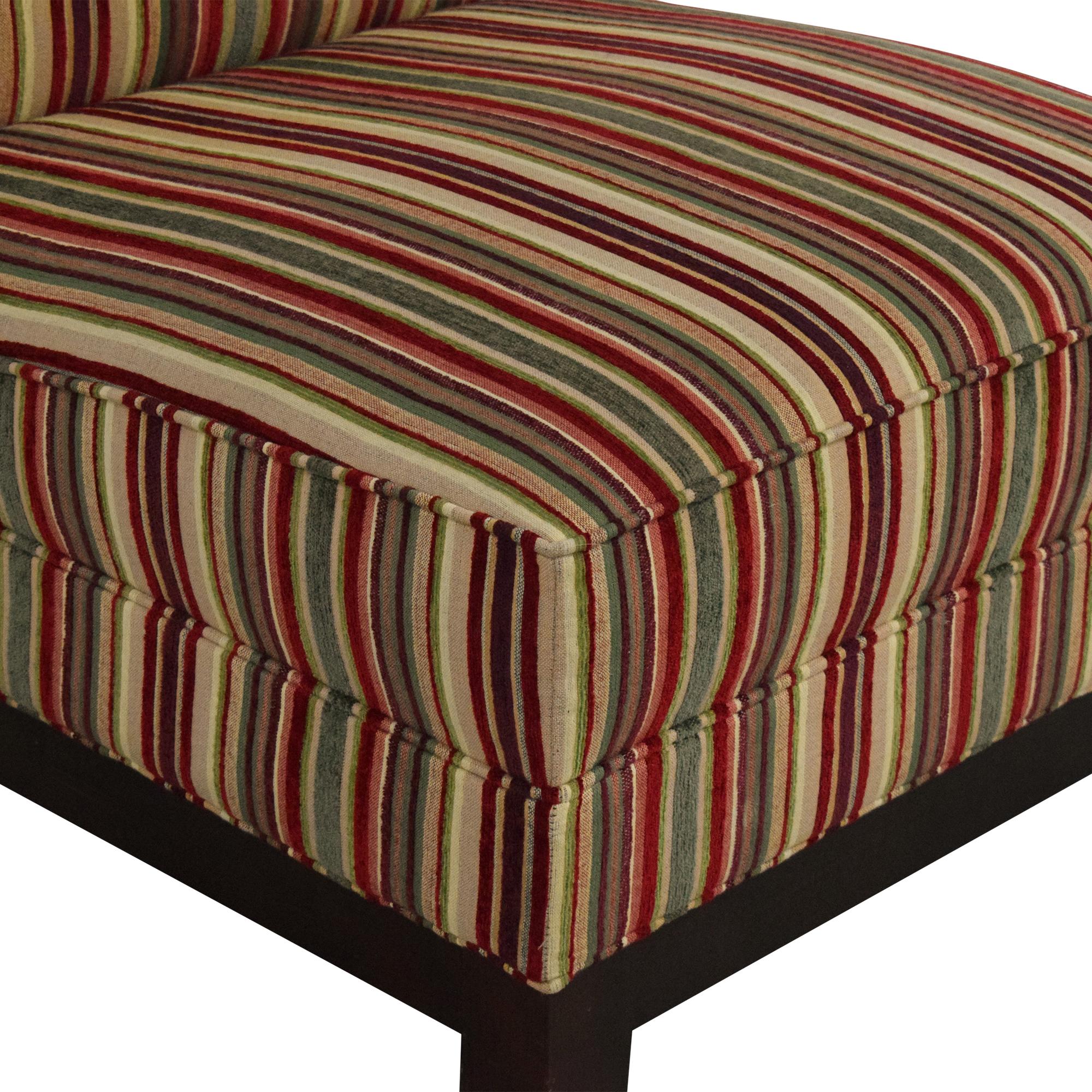 Mitchell Gold + Bob Williams Mitchell Gold + Bob Williams Slipper Chair multi