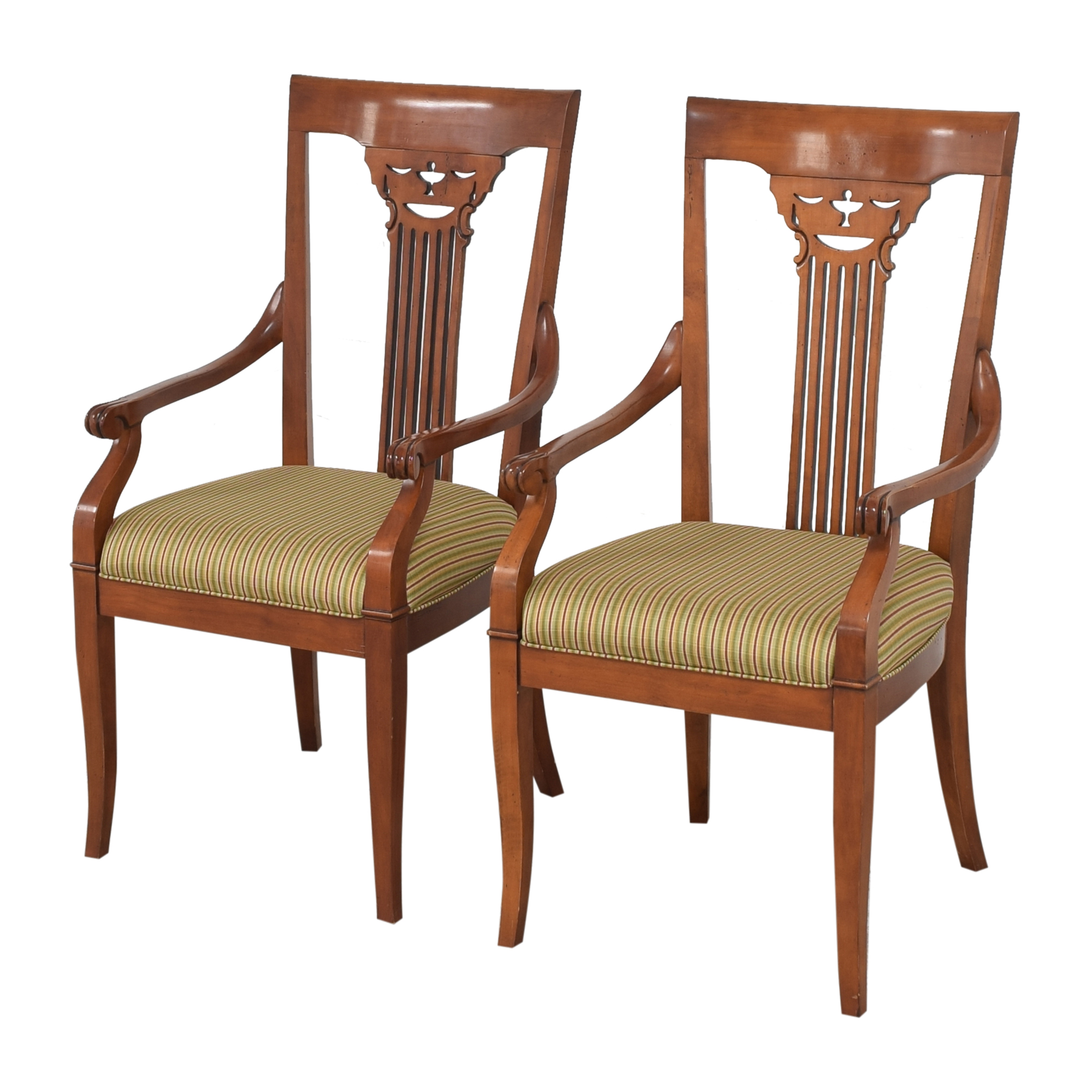 Harden Harden Dining Arm Chairs used