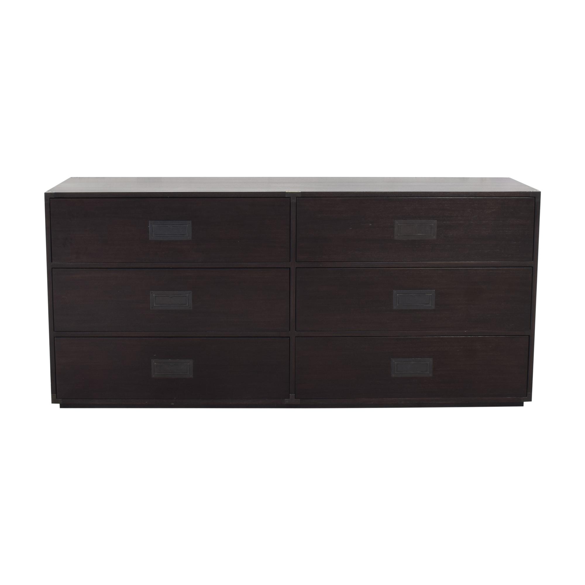 buy Restoration Hardware Six Drawer Double Dresser Restoration Hardware Storage