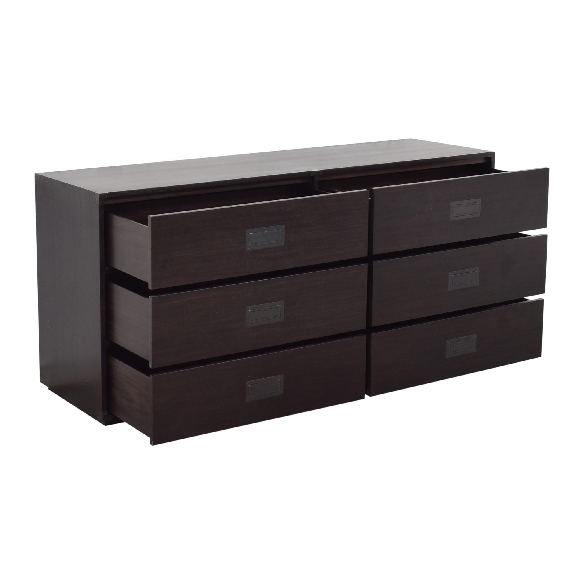 Restoration Hardware Restoration Hardware Six Drawer Double Dresser on sale