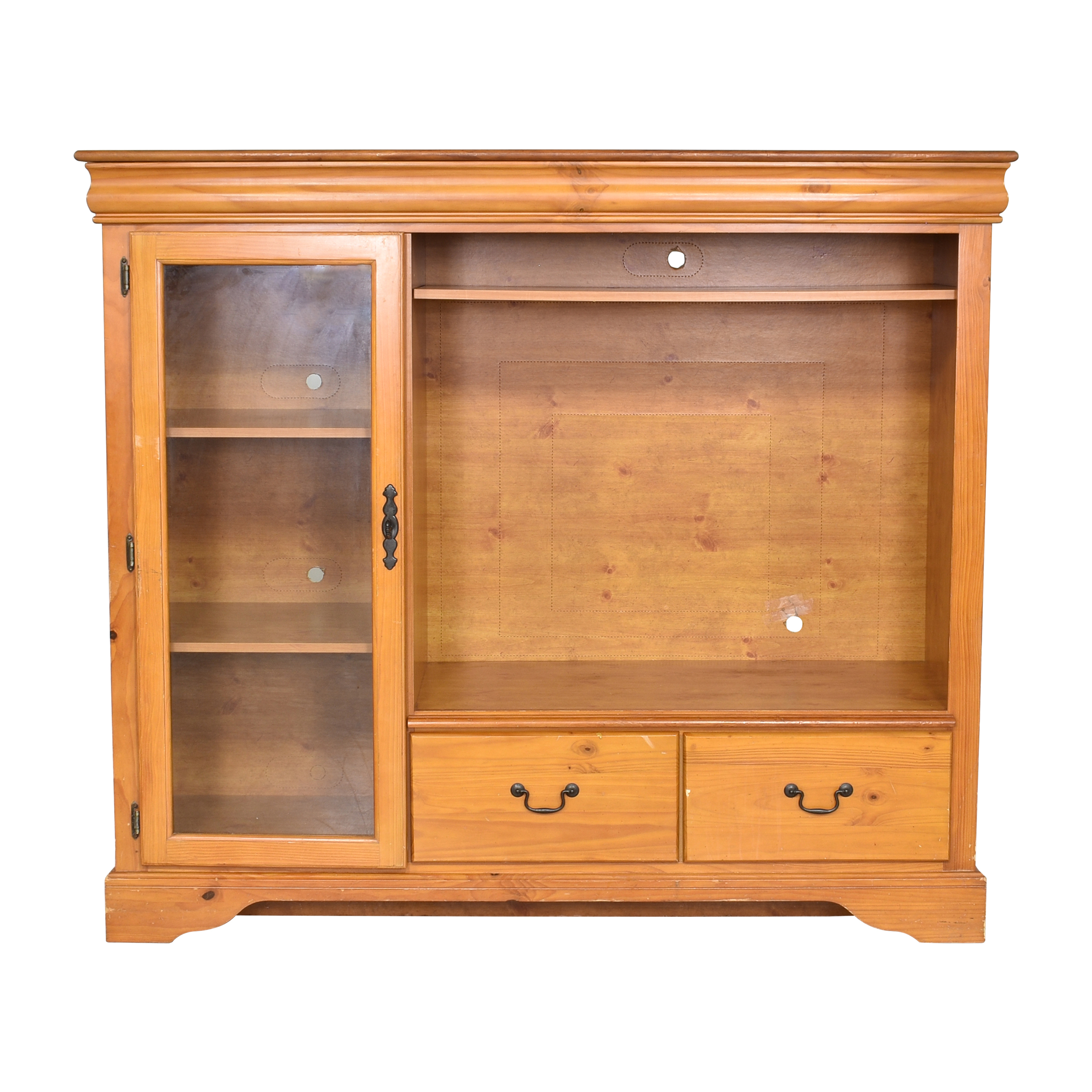Media Unit with Cabinet on sale