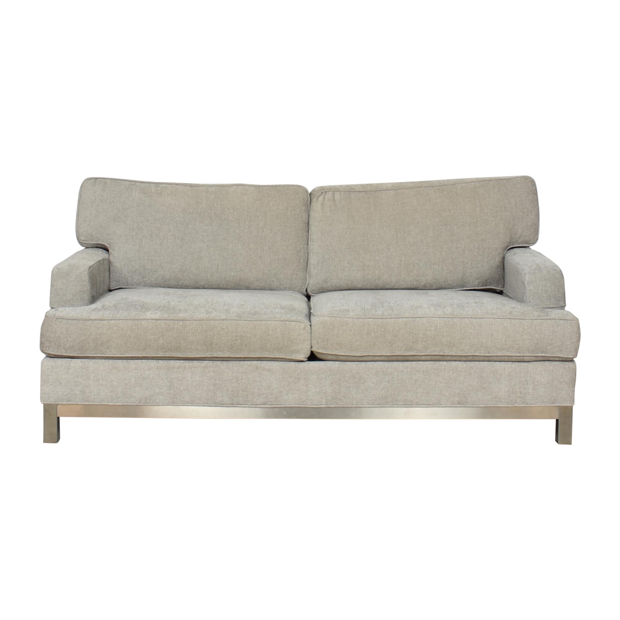 shop Ethan Allen Two Cushion Sofa Ethan Allen Sofas