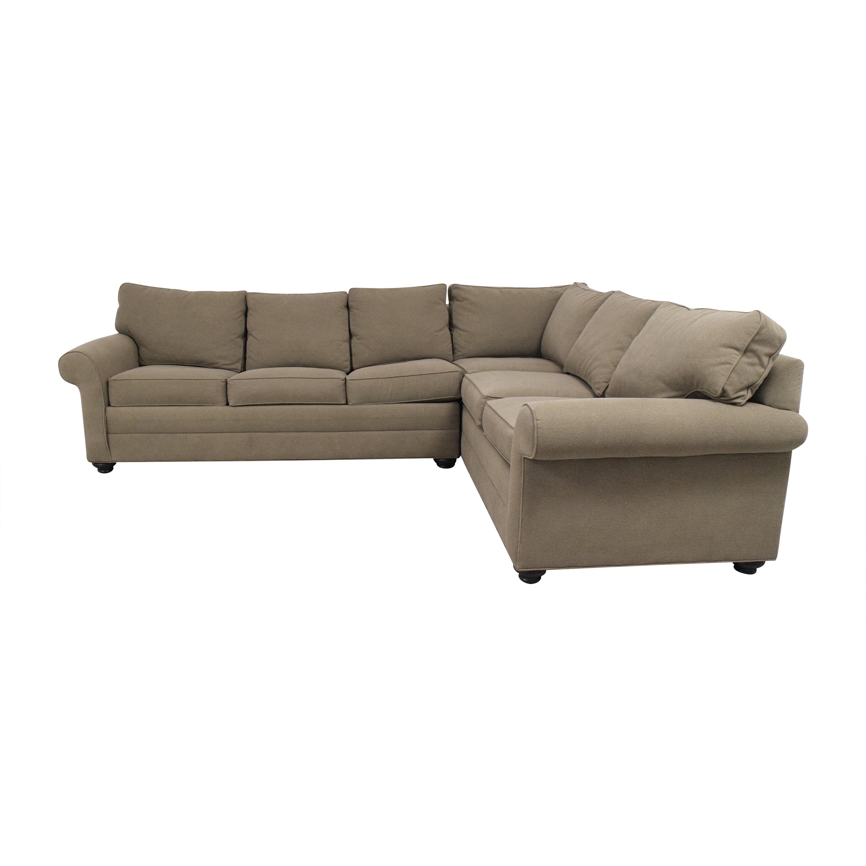 Ethan Allen Ethan Allen Sleeper Sectional Sofa coupon