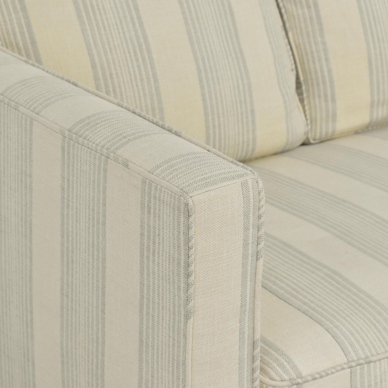 Todd Hase Todd Hase Harrington Skirted Sofa discount