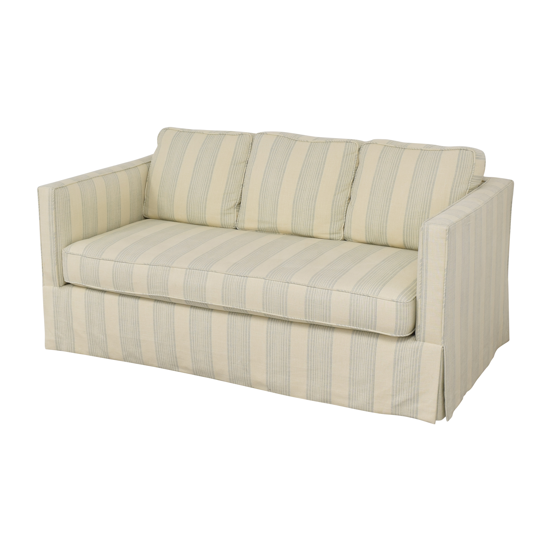 shop Todd Hase Harrington Skirted Sofa Todd Hase