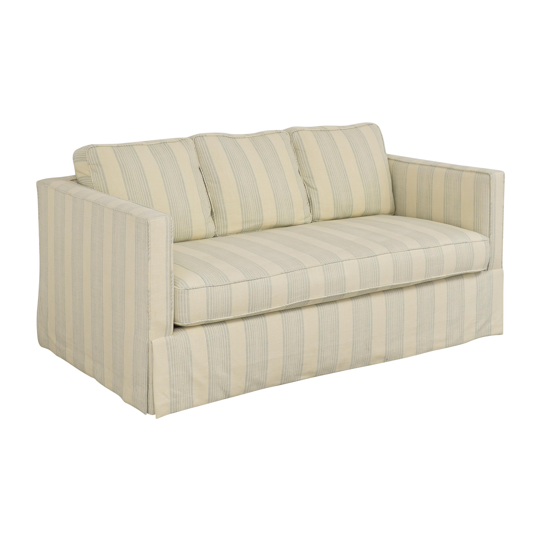 buy Todd Hase Todd Hase Harrington Skirted Sofa online
