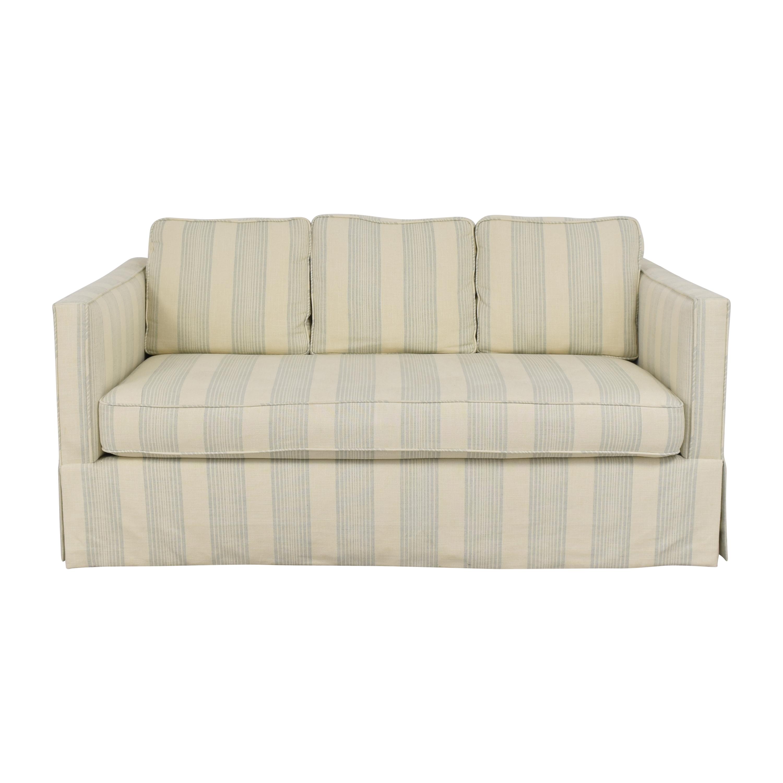 buy Todd Hase Harrington Skirted Sofa Todd Hase Classic Sofas