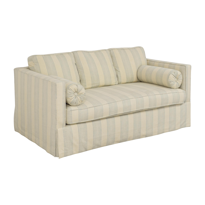 Todd Hase Todd Hase Harrington Skirted Sofa used
