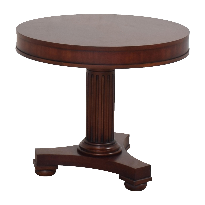Ralph Lauren Home Ralph Lauren Pedestal Side Table on sale