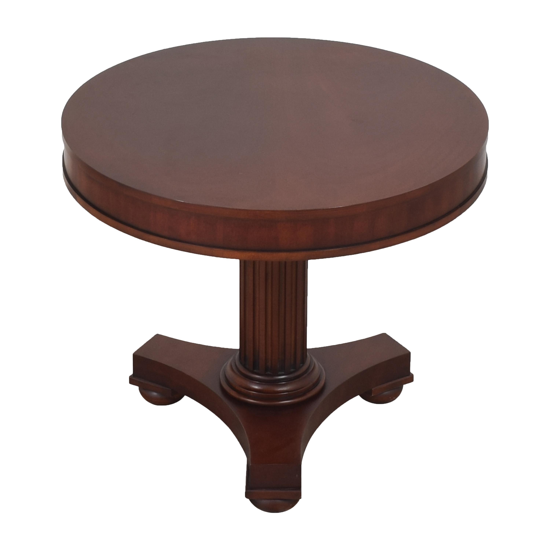 Ralph Lauren Home Ralph Lauren Pedestal Side Table used