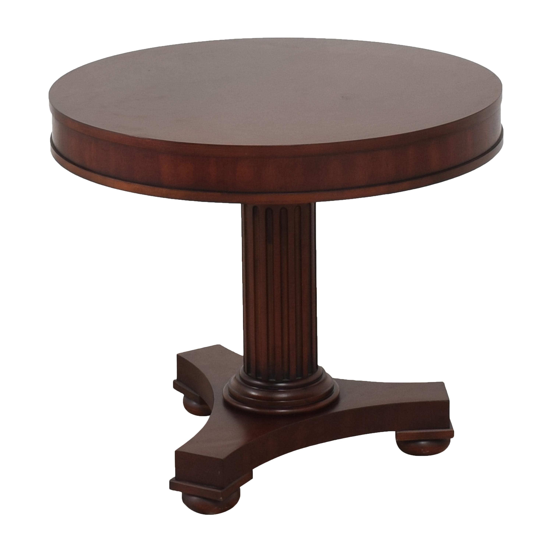 Ralph Lauren Home Ralph Lauren Pedestal Side Table nj