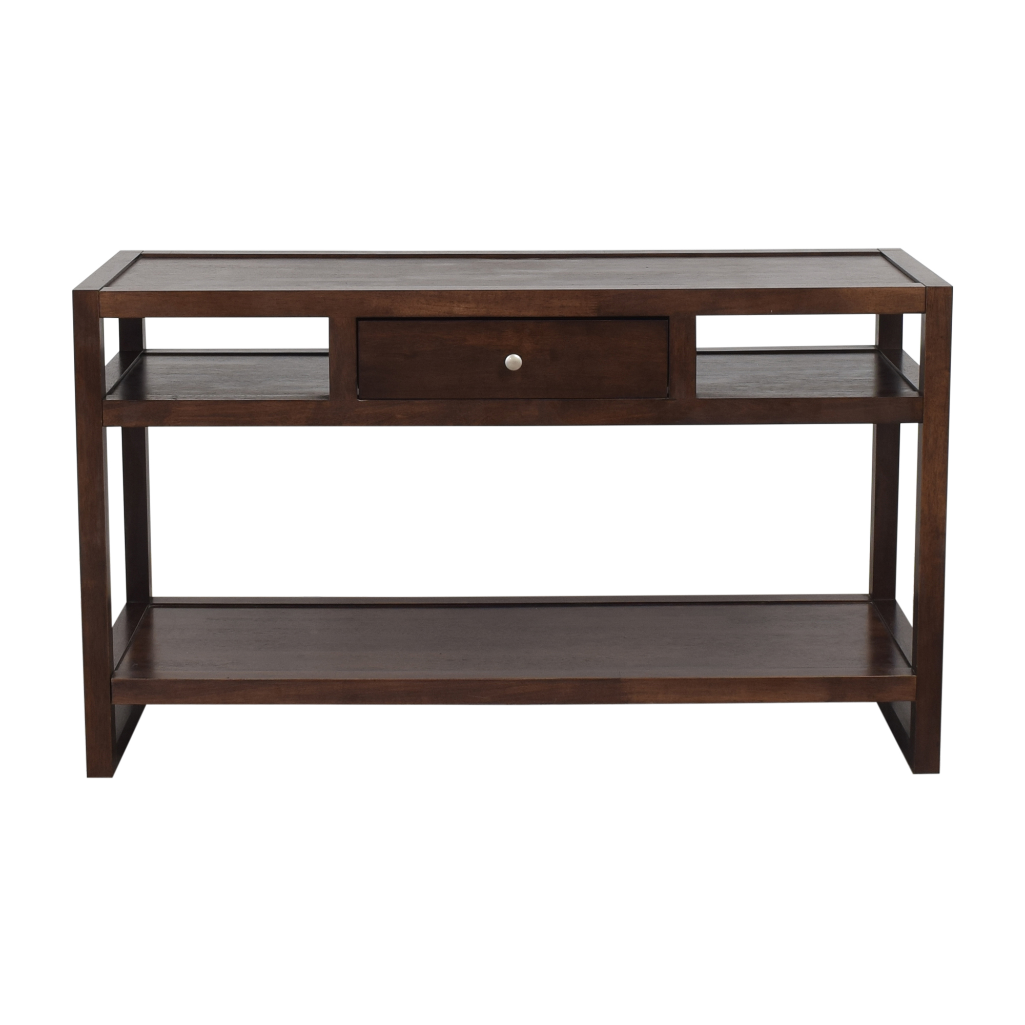 Overstock Single Drawer Console Table / Tables