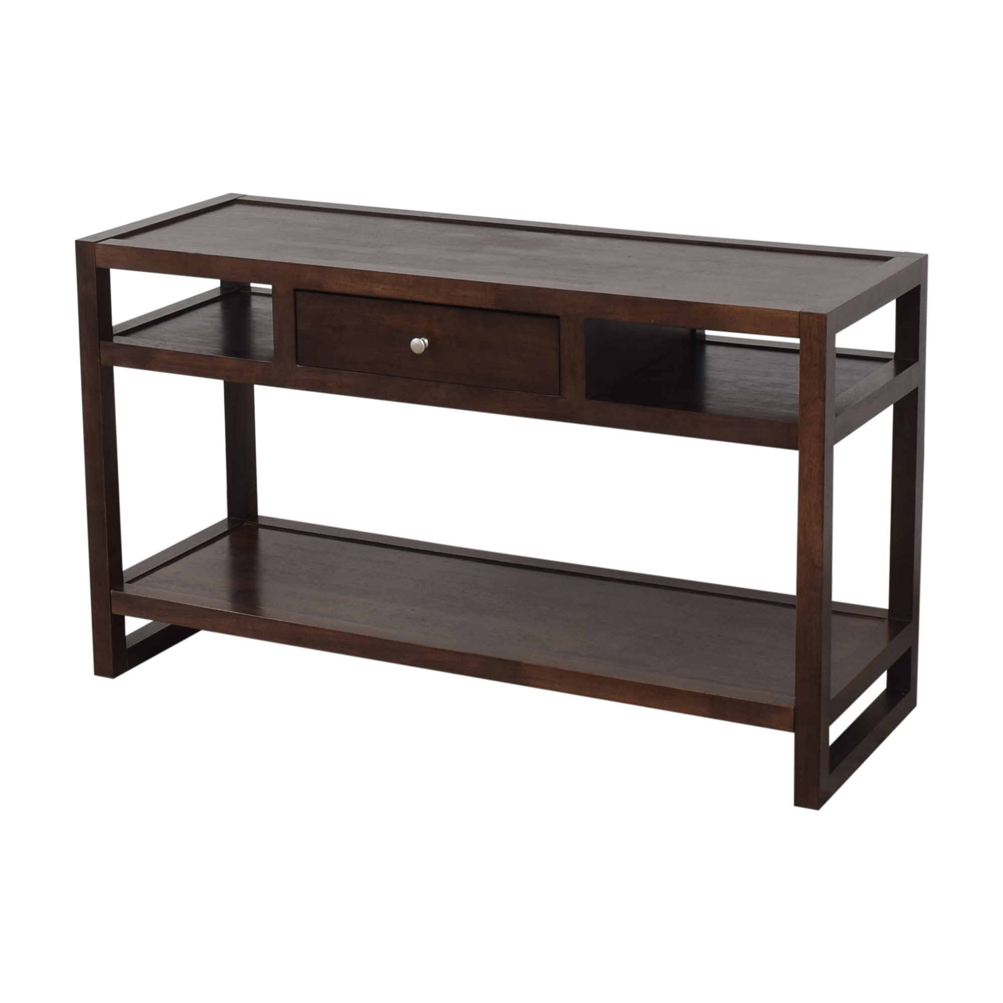Overstock Overstock Single Drawer Console Table for sale