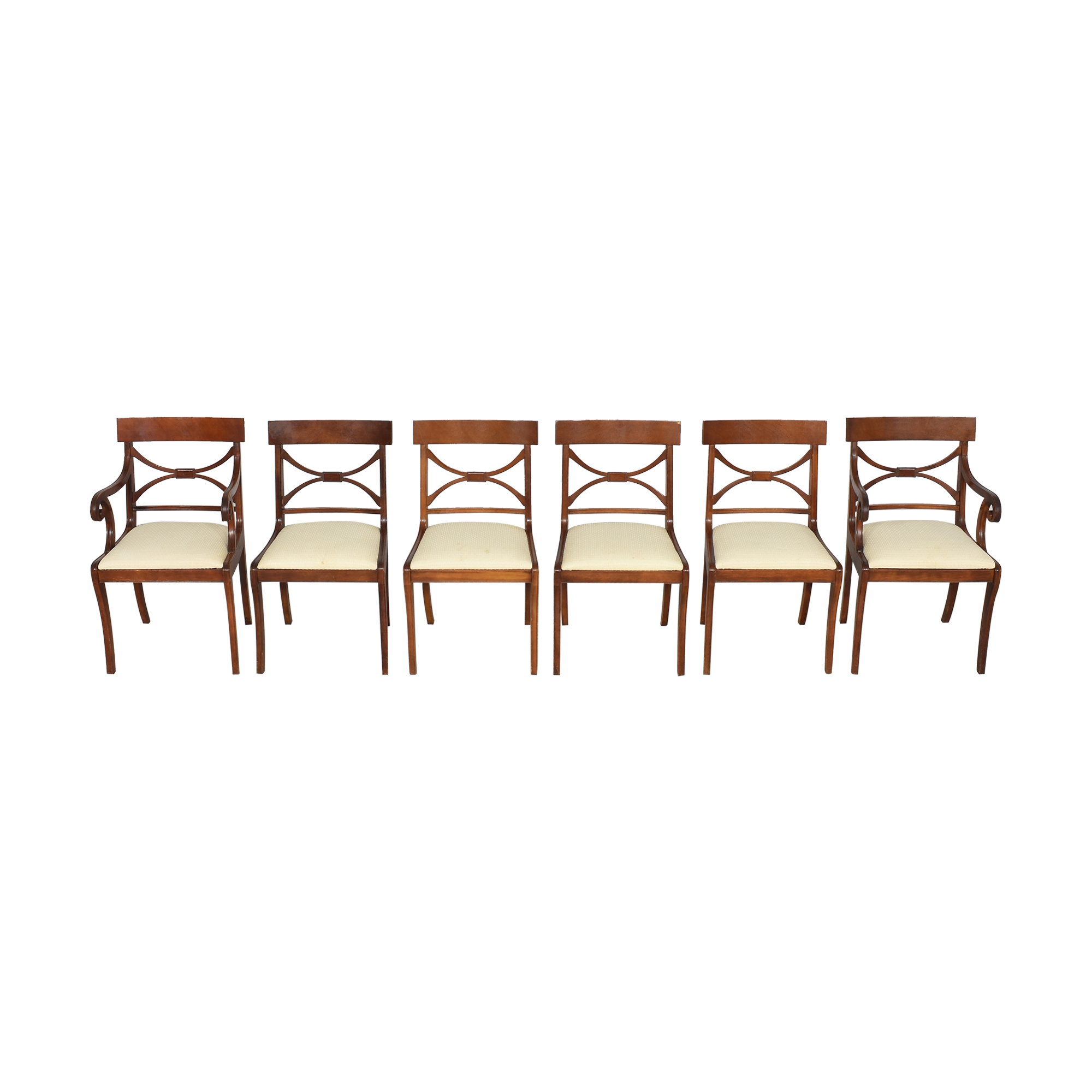 Cross Back Dining Chairs used