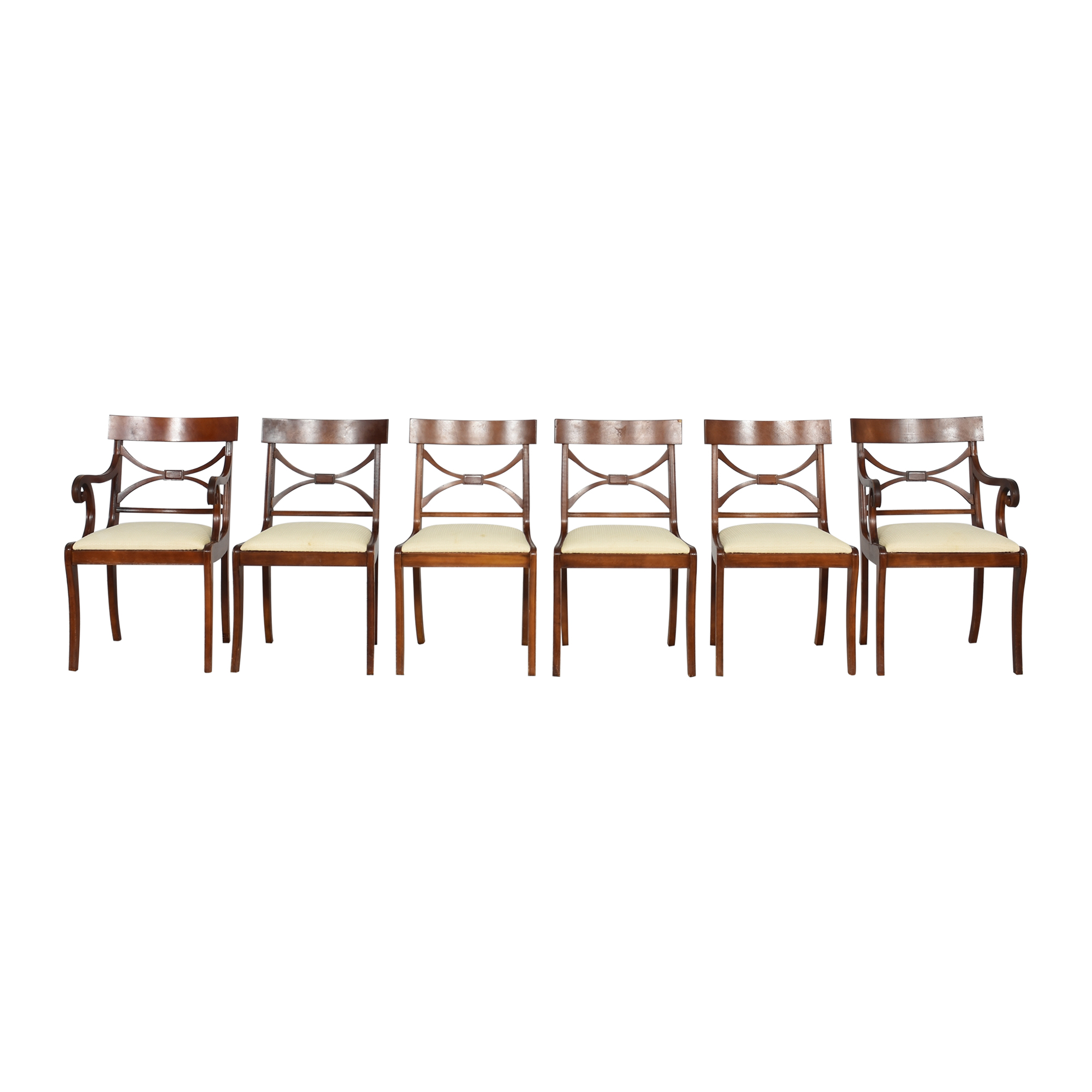 Cross Back Dining Chairs Chairs