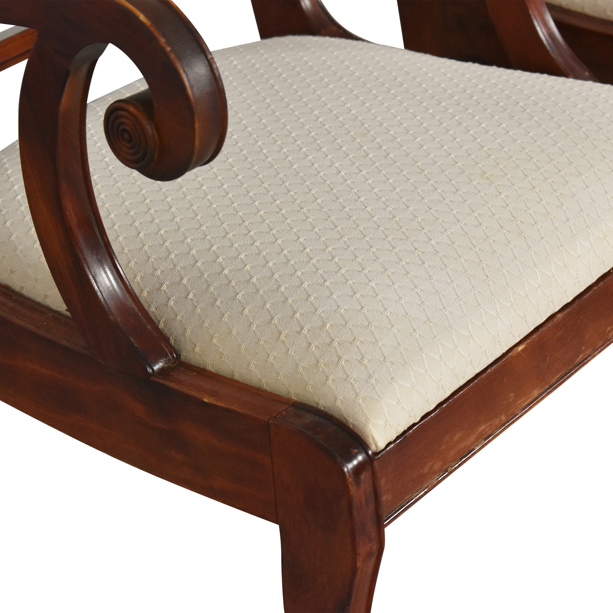 Cross Back Dining Chairs for sale