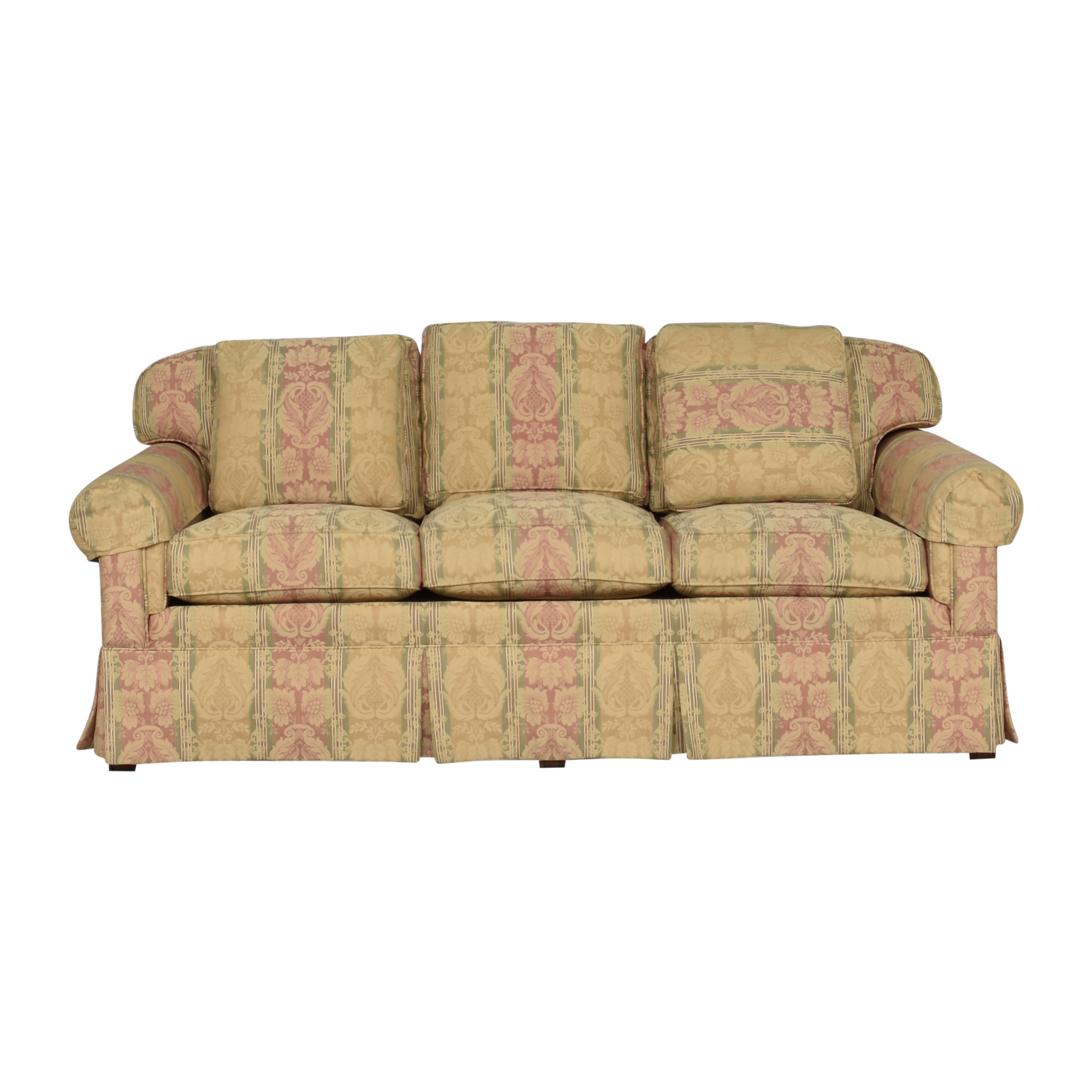 Hickory Chair Hickory Chair Sovereign Collection Skirted Sofa Classic Sofas