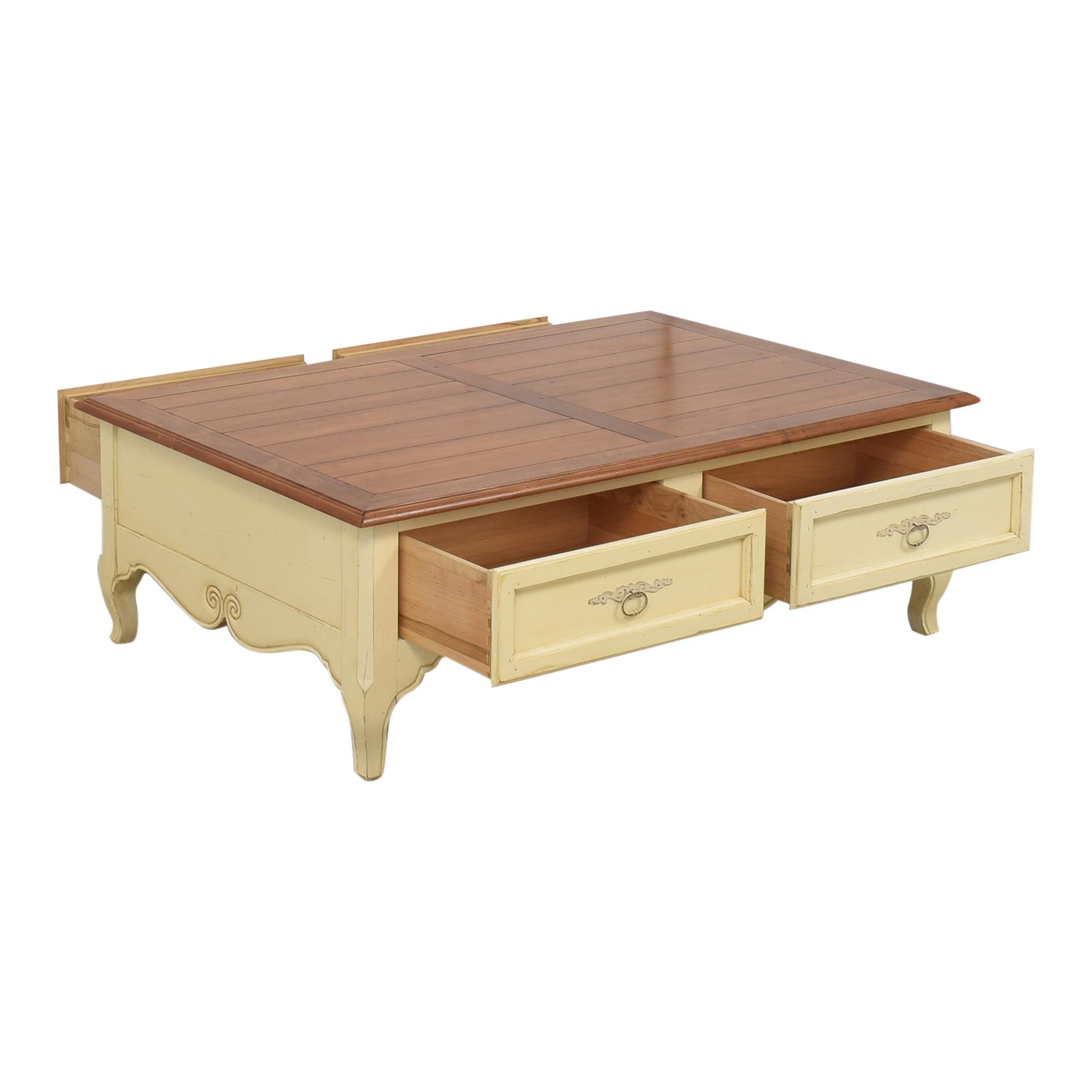 Ethan Allen Lasalle Coffee Table sale