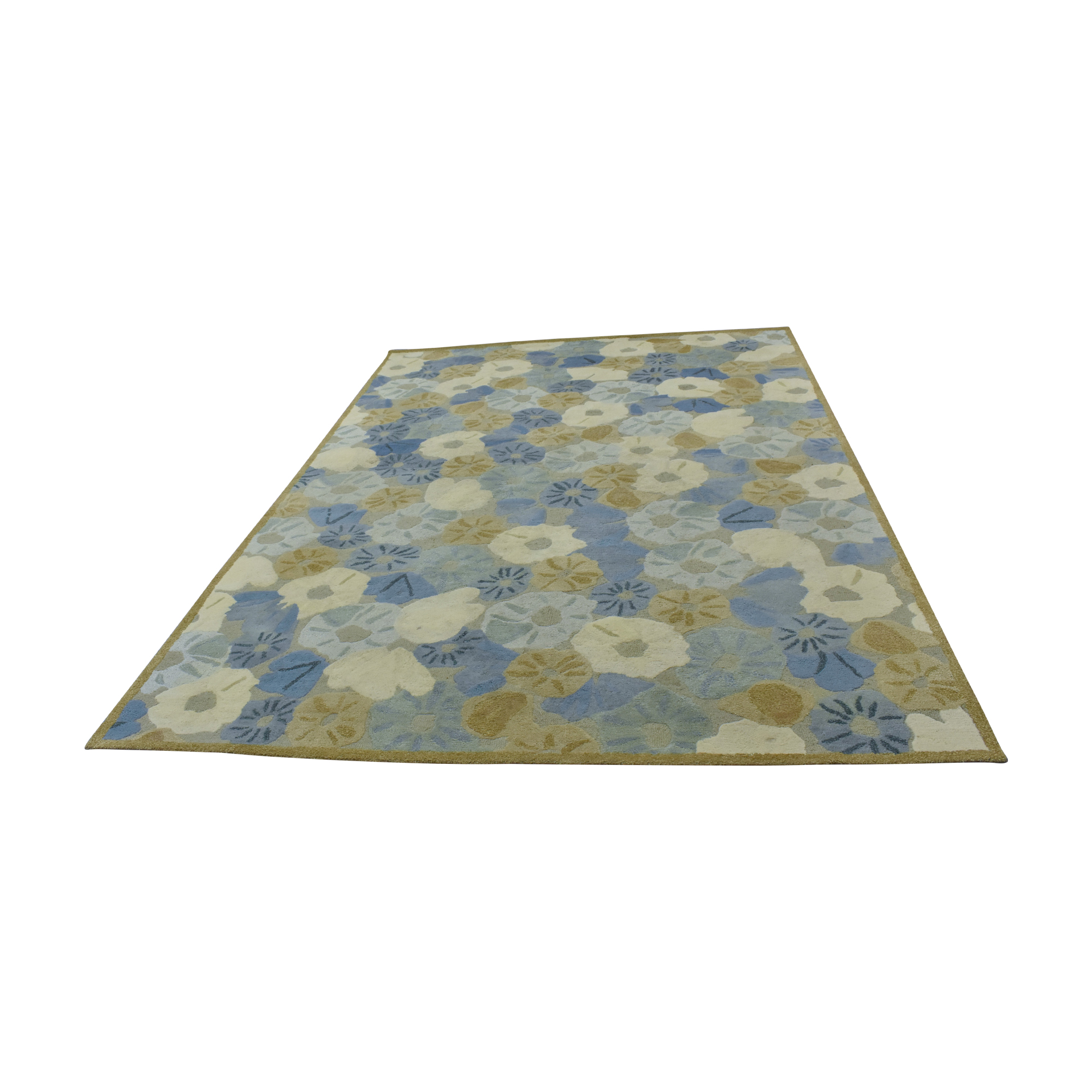 Abstract Floral Rug nyc