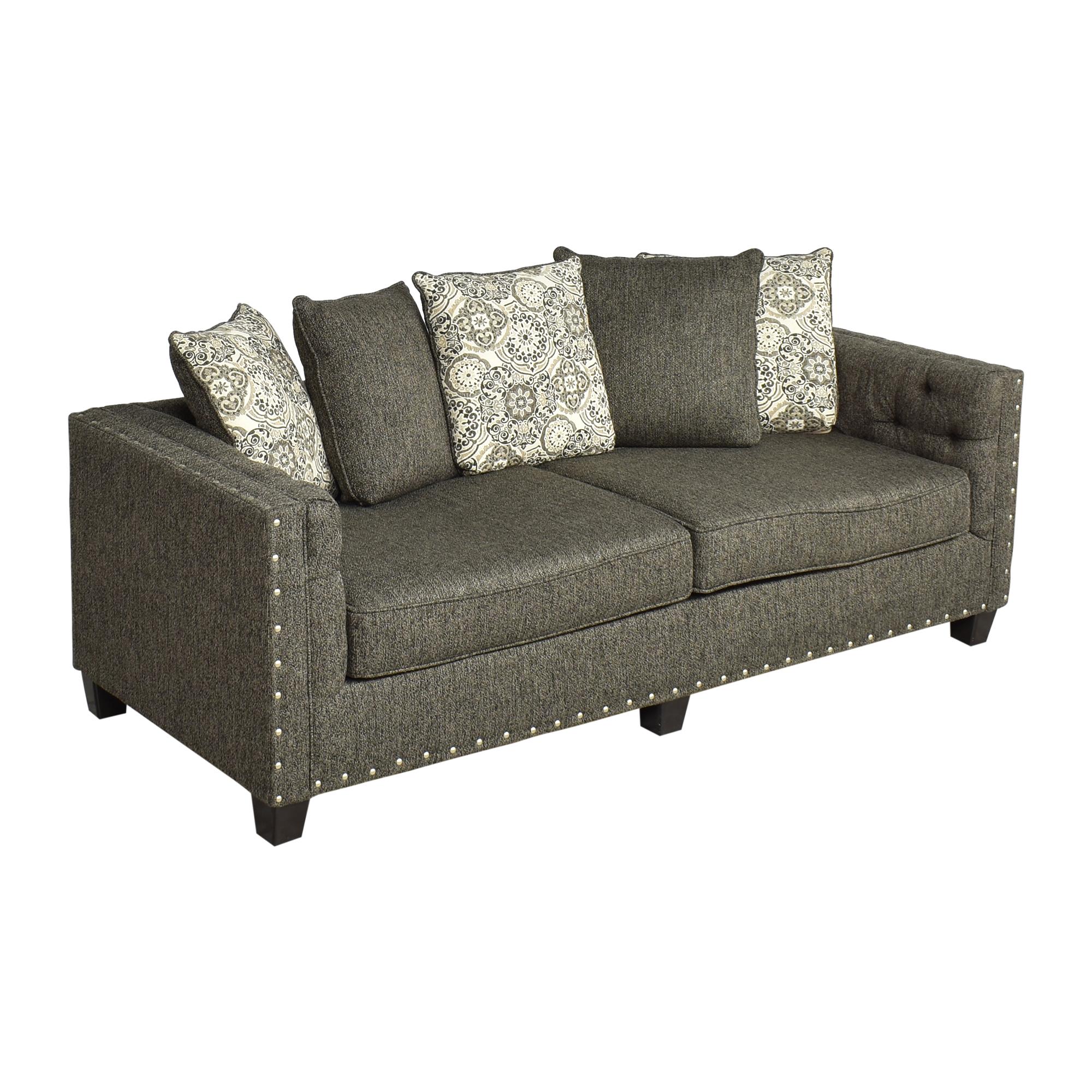 Hughes Furniture Hughes Furniture Nailhead Sofa discount