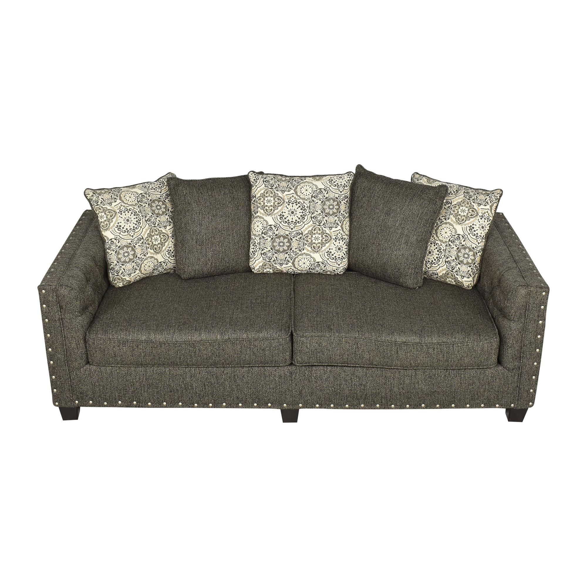buy Hughes Furniture Hughes Furniture Nailhead Sofa online