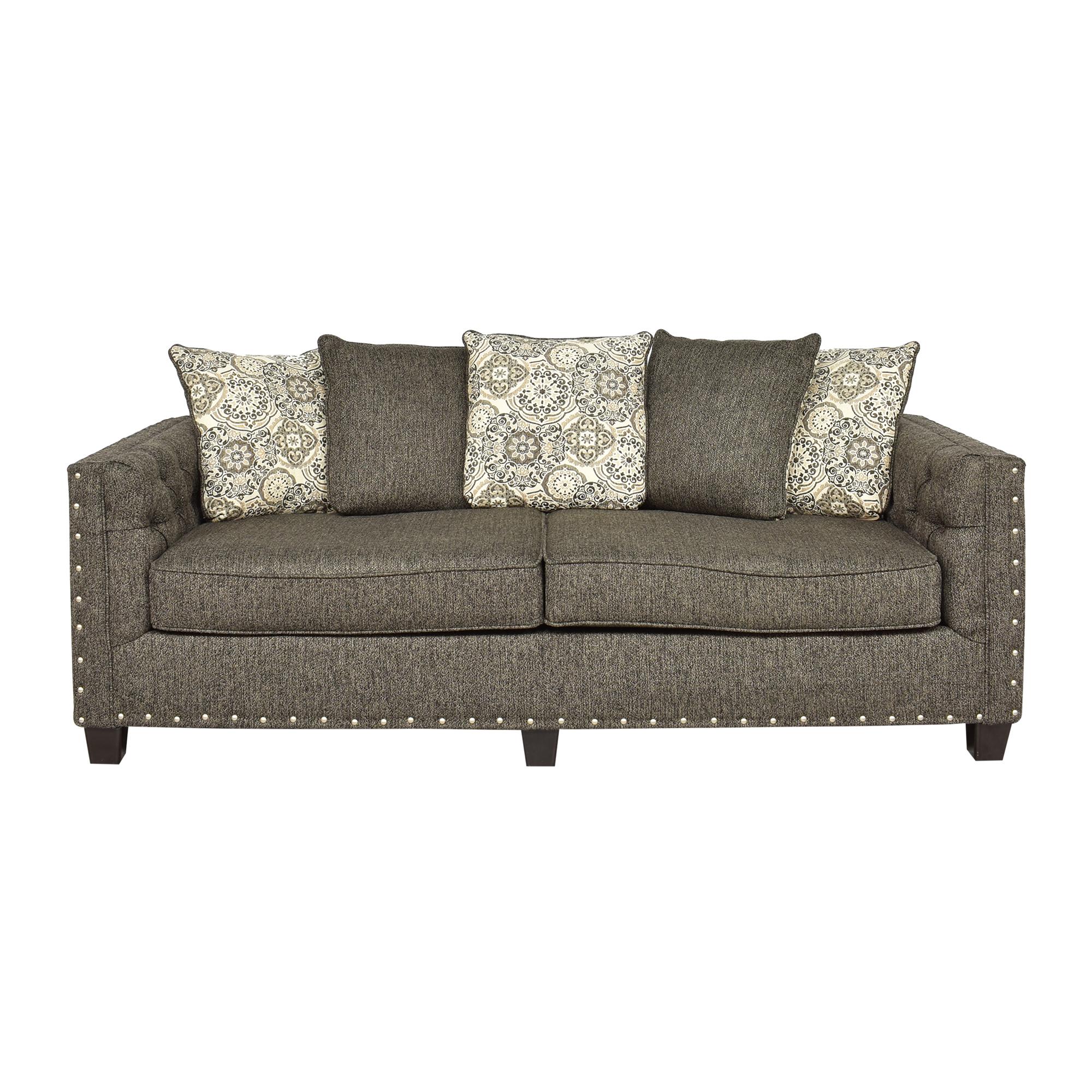Hughes Furniture Hughes Furniture Nailhead Sofa pa