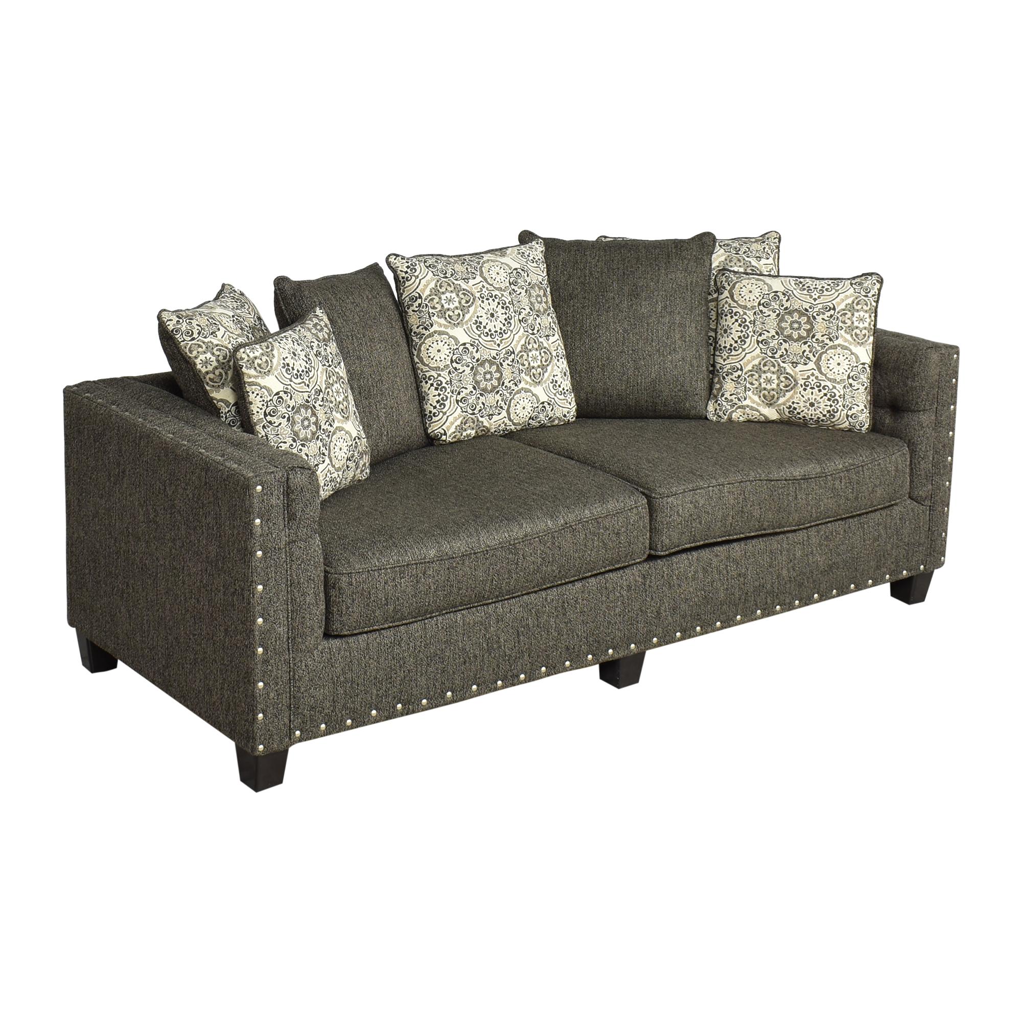 buy Hughes Furniture Nailhead Sofa Hughes Furniture Classic Sofas