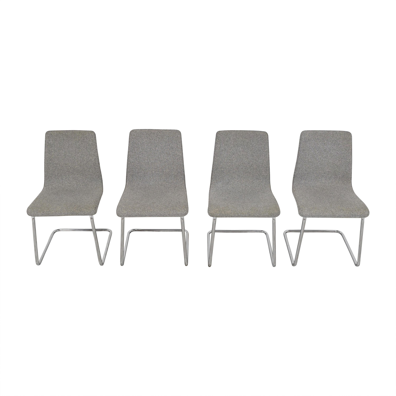 CB2 CB2 Pony Tweed Chairs dimensions