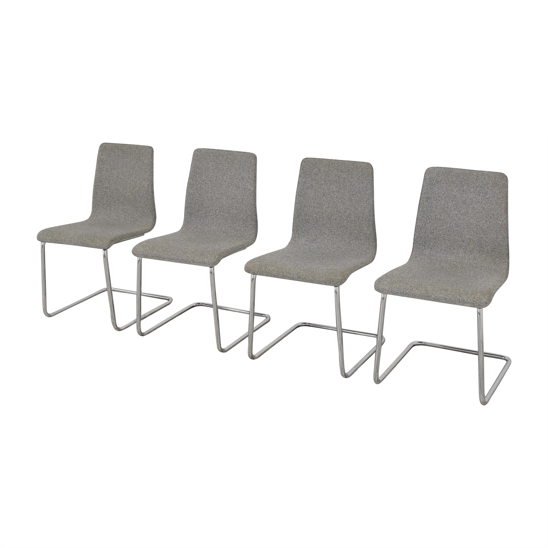 CB2 CB2 Pony Tweed Chairs coupon